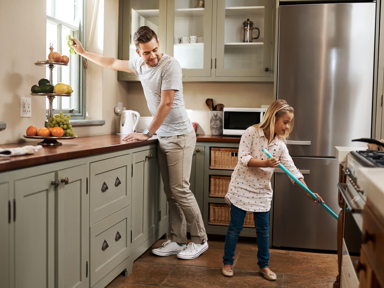 Ta husvasken på 1-2-3
