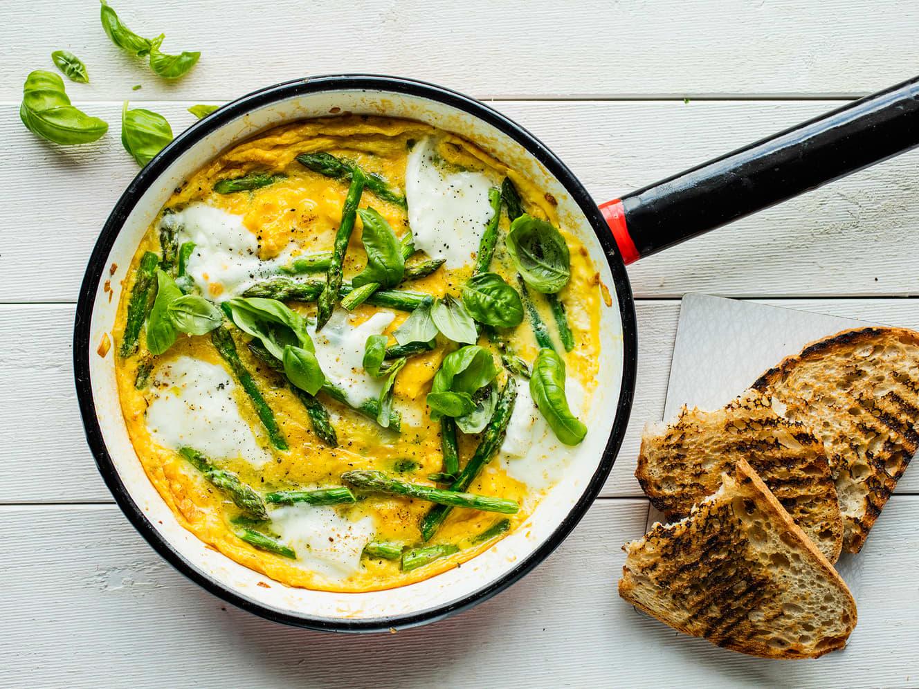 God frokost med egg