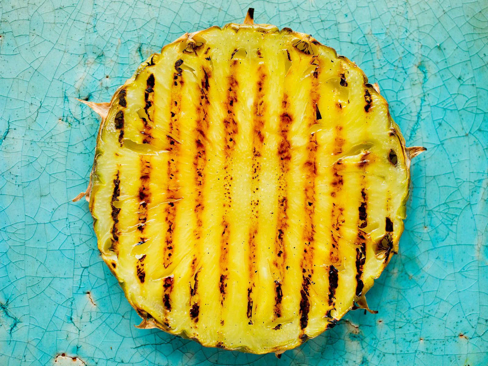Grillet ananas