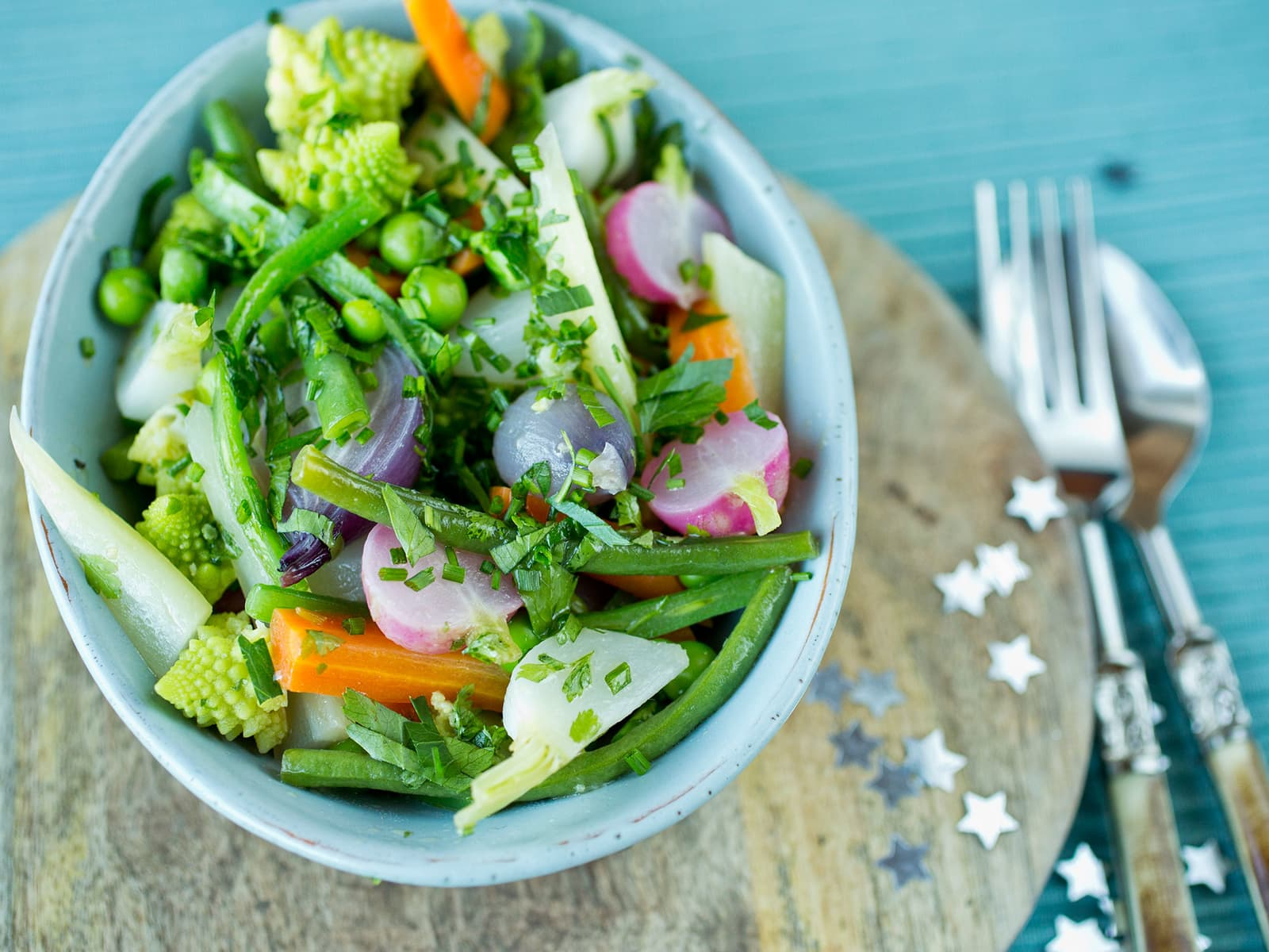 Glaserte grønnsaker