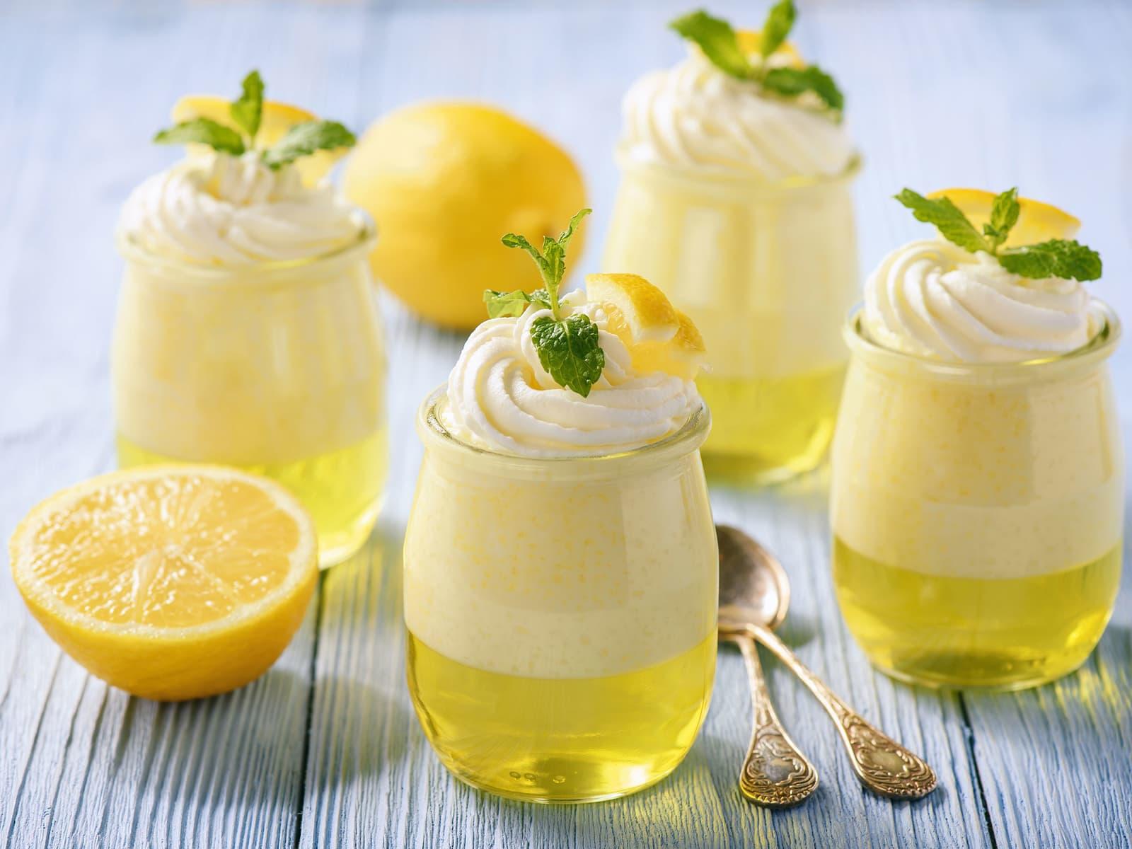 Sitrongele med sitronfromasj