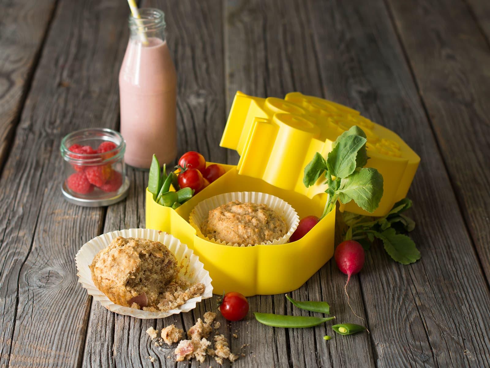Lunsjmuffins med spennende fyll