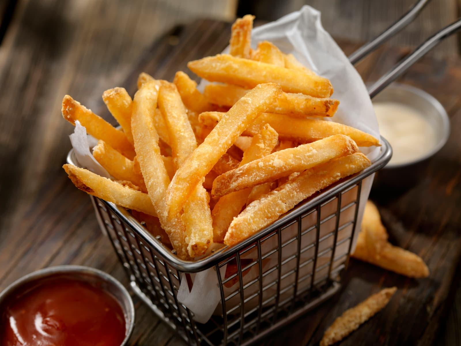 Hjemmelagde pommes frites