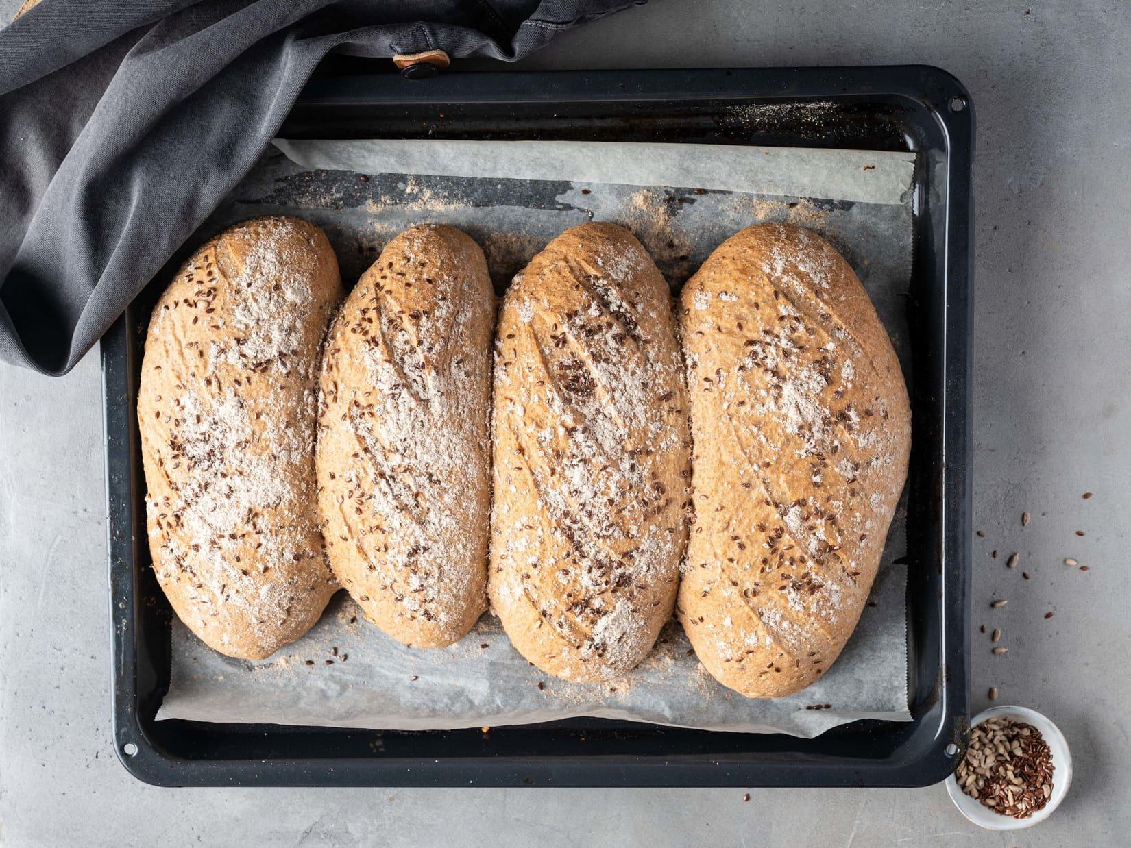Brød og rundstykker