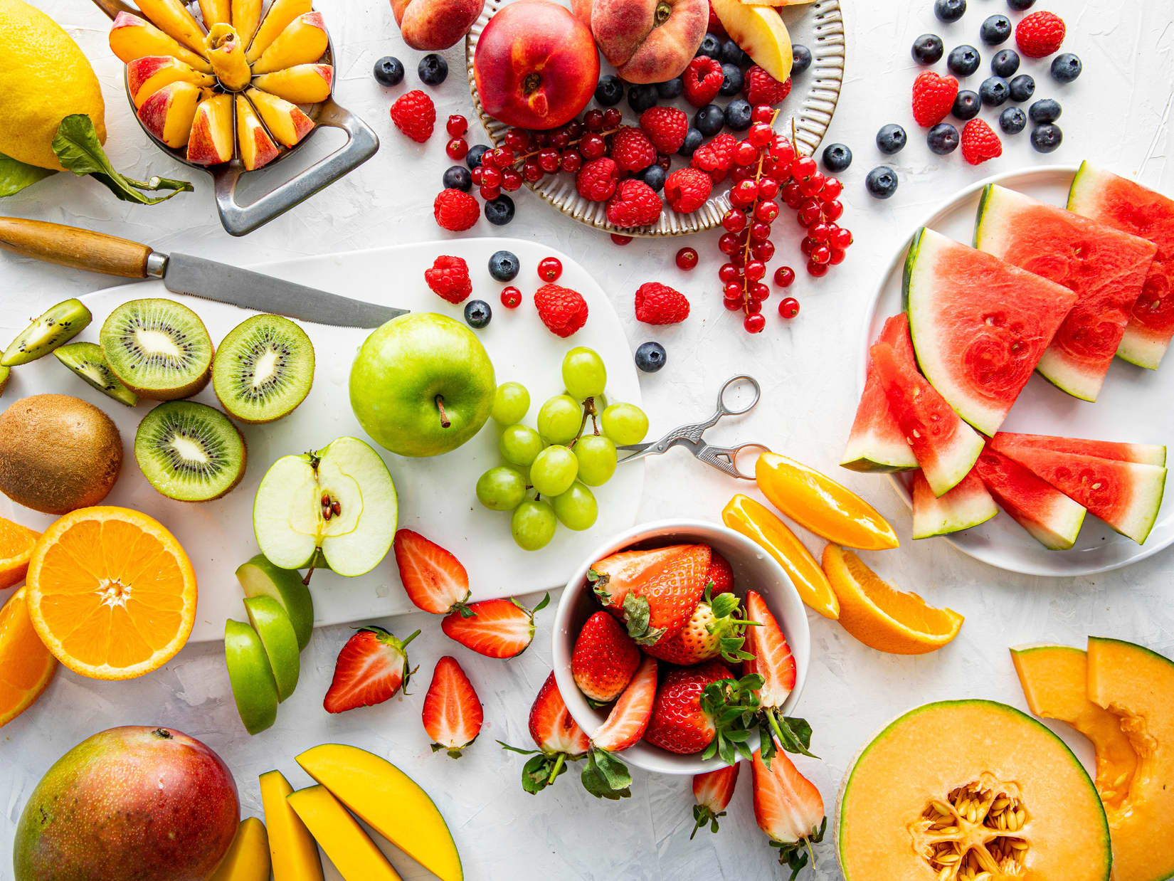 Fersk frukt og grønt