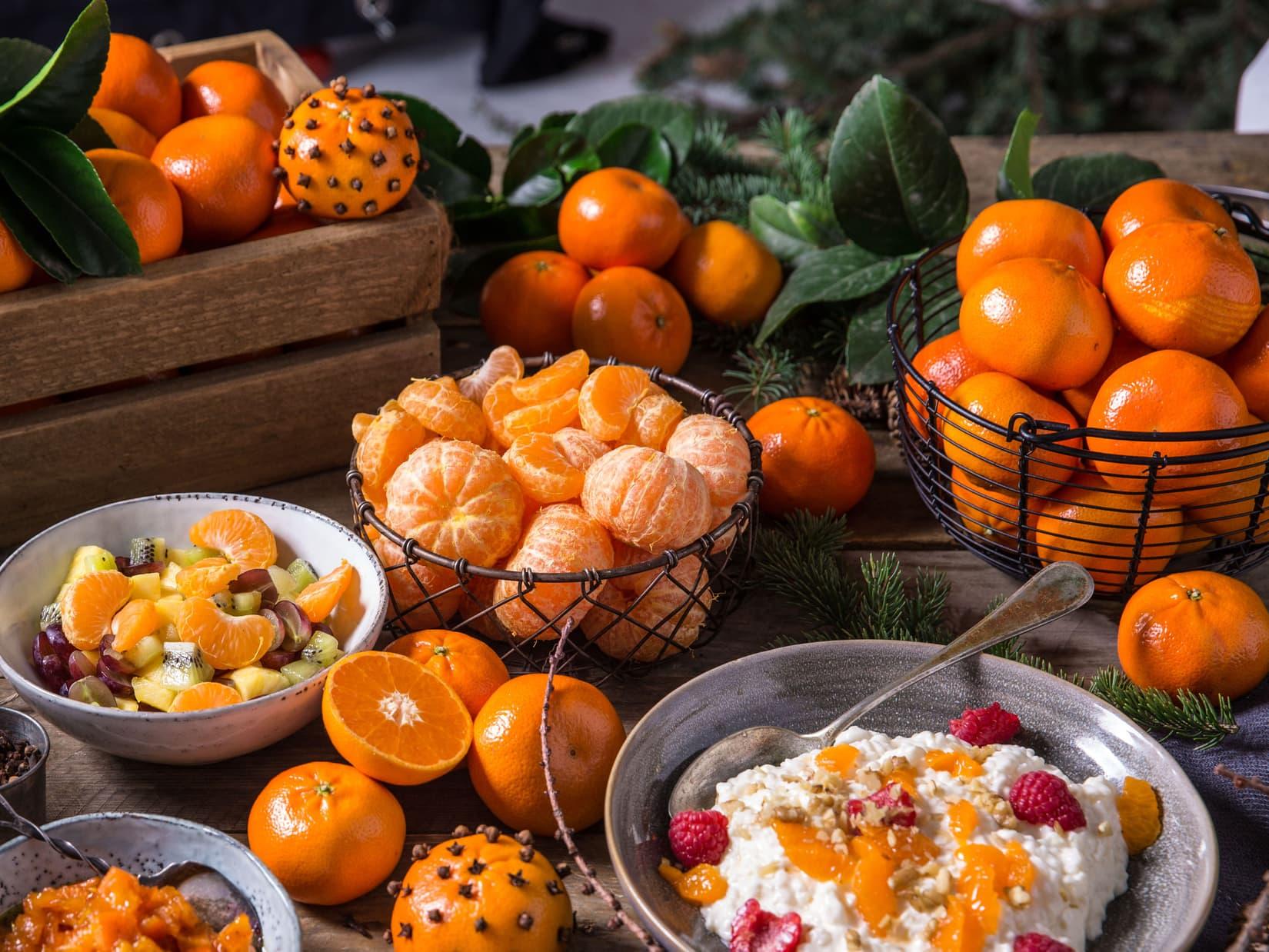 Julens søte frukt