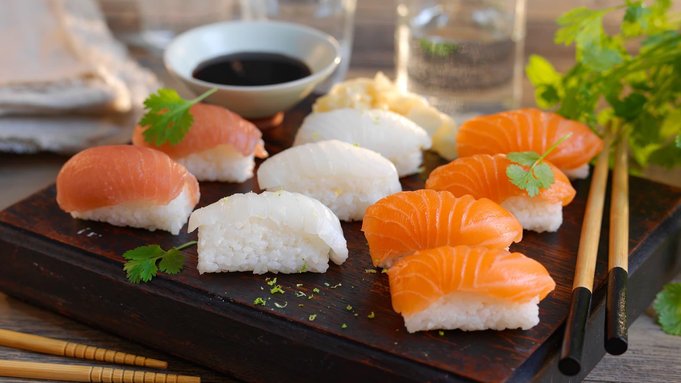 Frøyas lakseloin passer utmerket til sushi