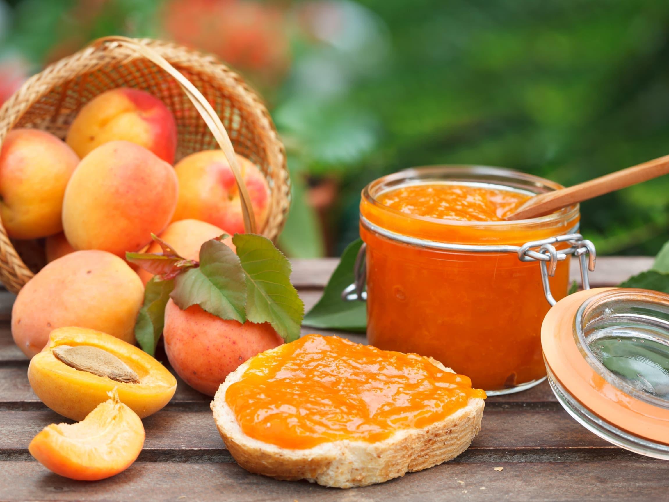 Den søte, saftige aprikosen egner seg spesielt godt til syltetøy og marmelader