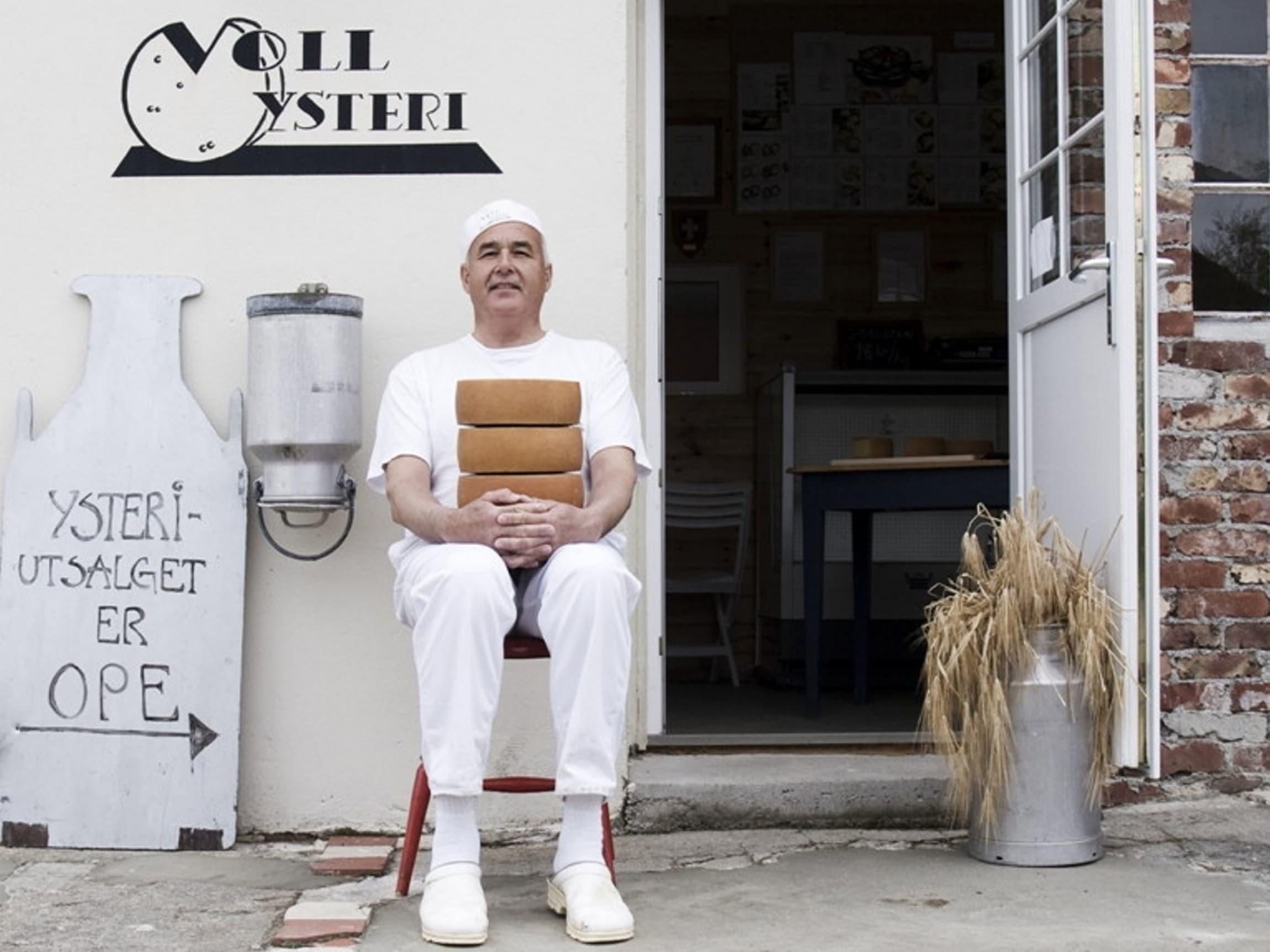 Hans Voll - selve grunnfjellet i produksjon av norsk gardsost