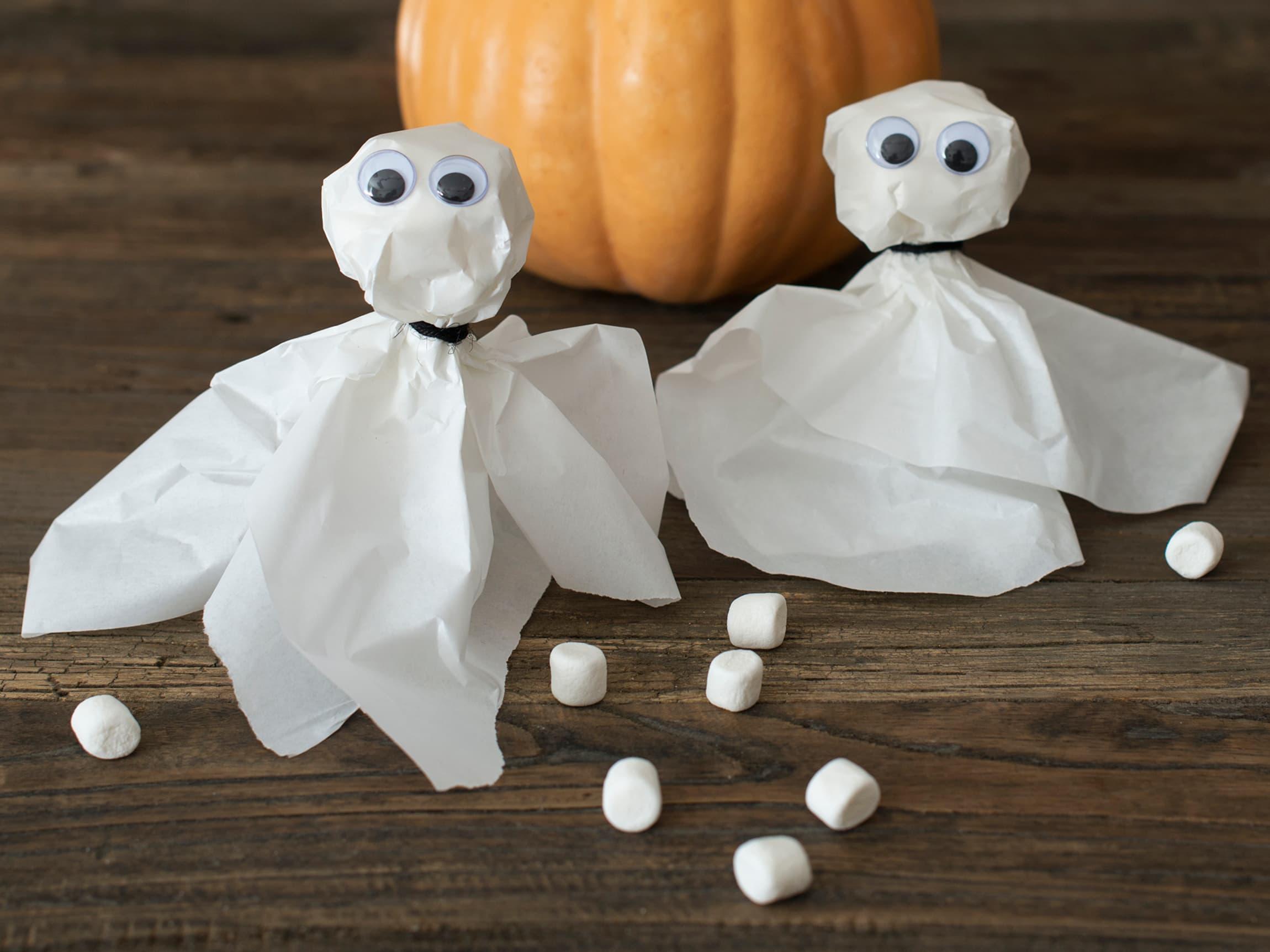 Kjempefine matpapirspøkelser
