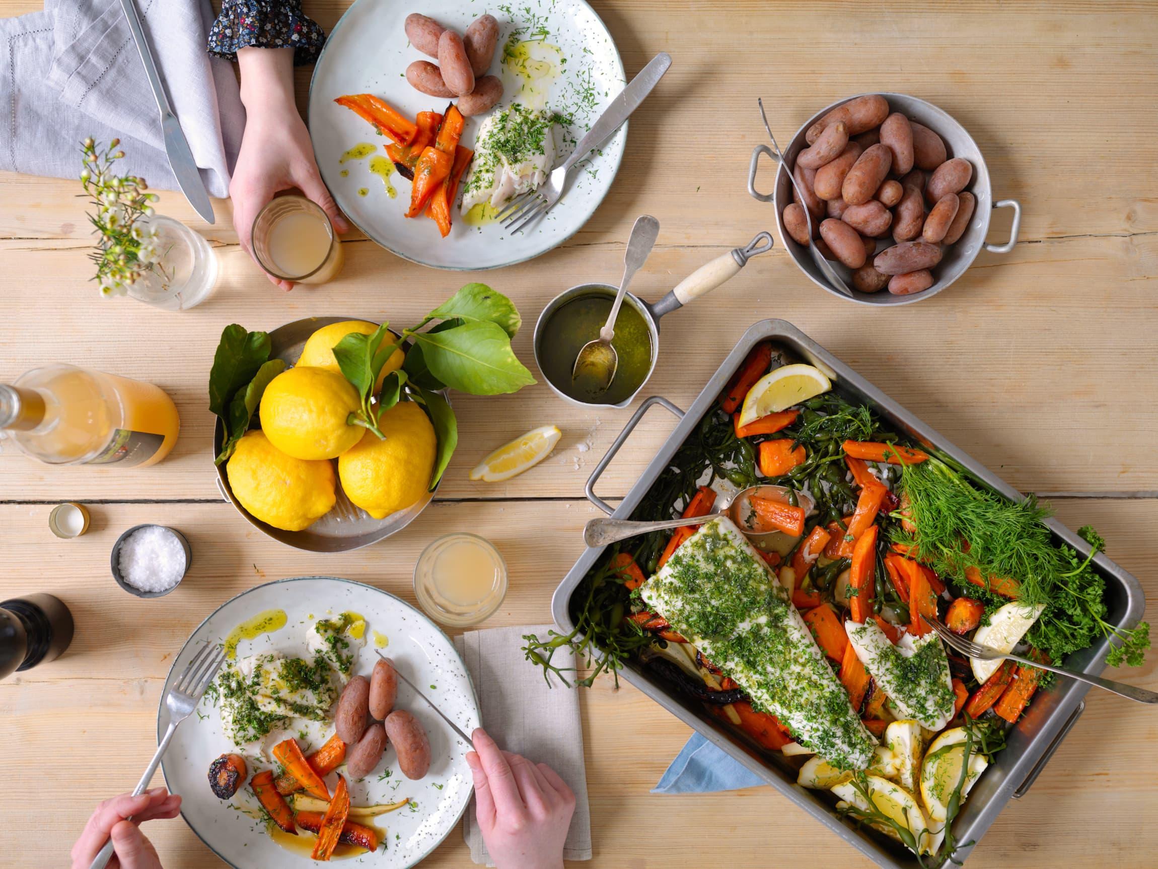 Husk å variere middagene. Prøv noe nytt! Kanskje du og barna får en ny favoritt?