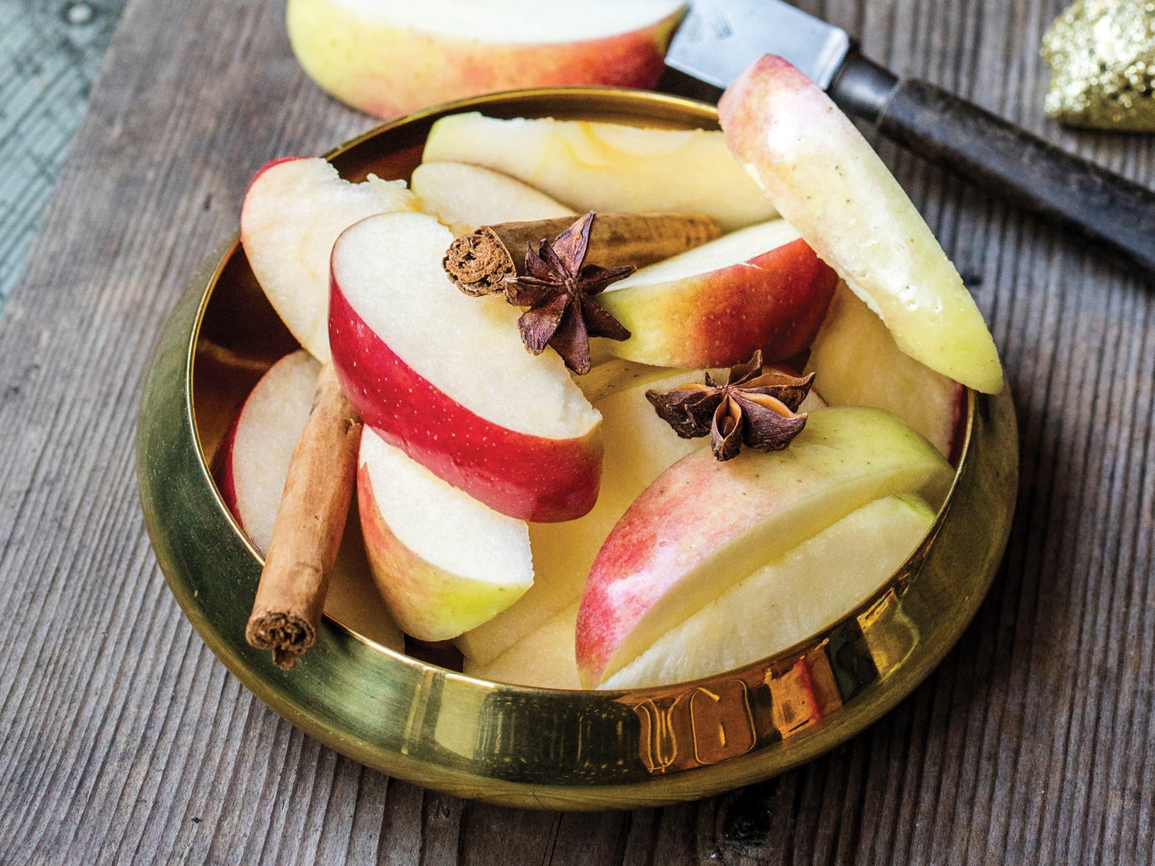 Syv sorter epler til jul