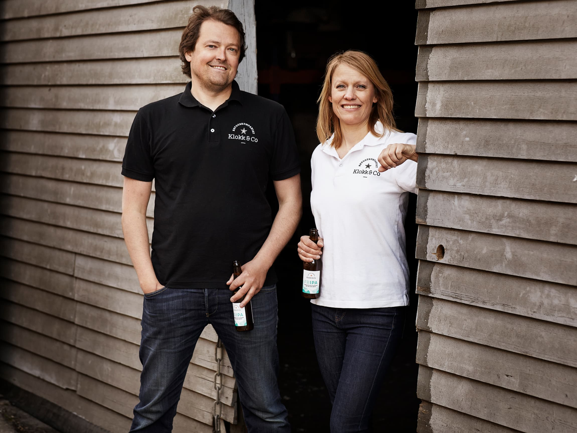 Kristine og Leif har et tett og langsiktig samarbeid med Arendals Bryggeri