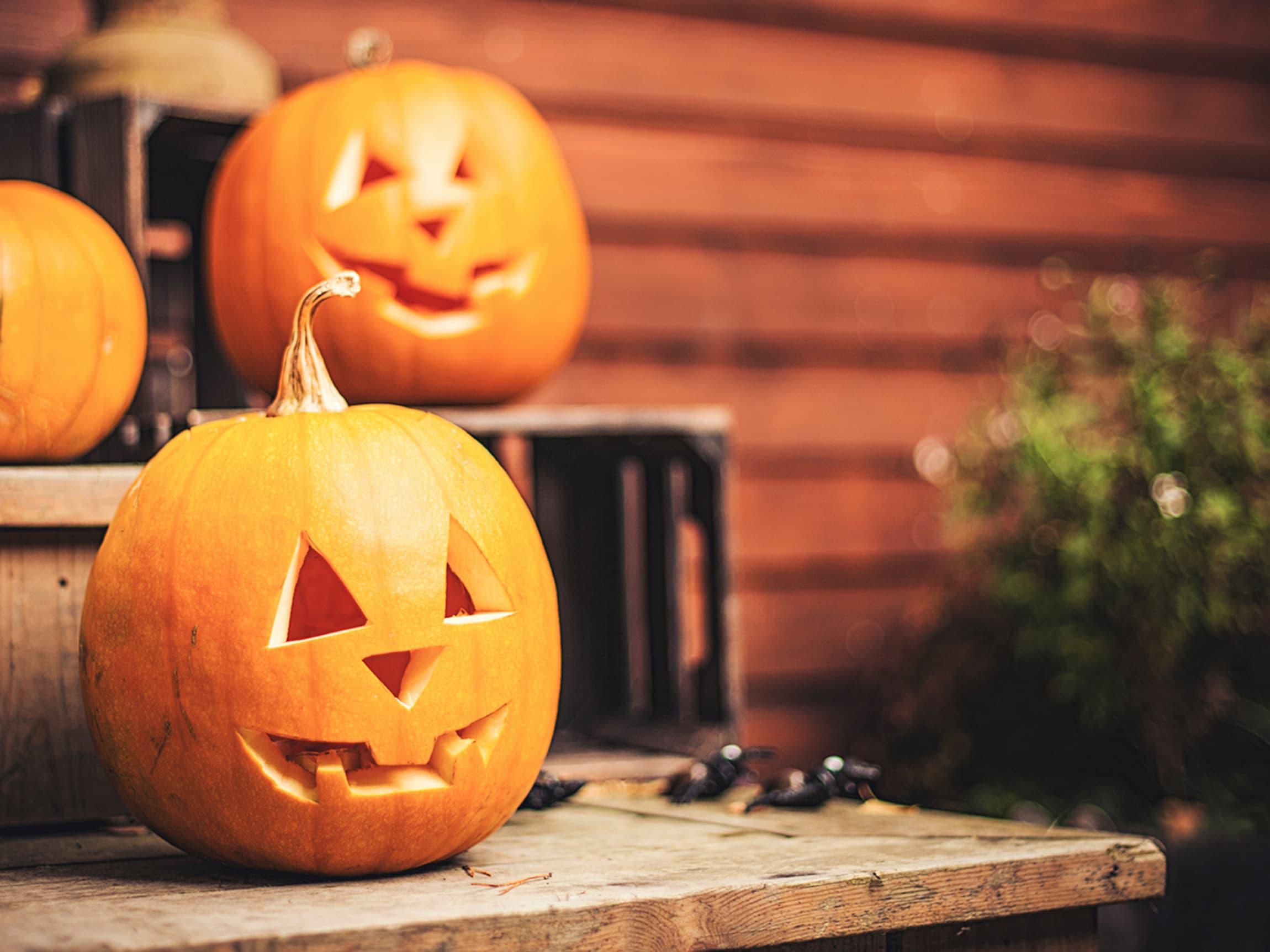 Gresskarlykter er et must under Halloween - men det er også mye god mat i et gresskar.