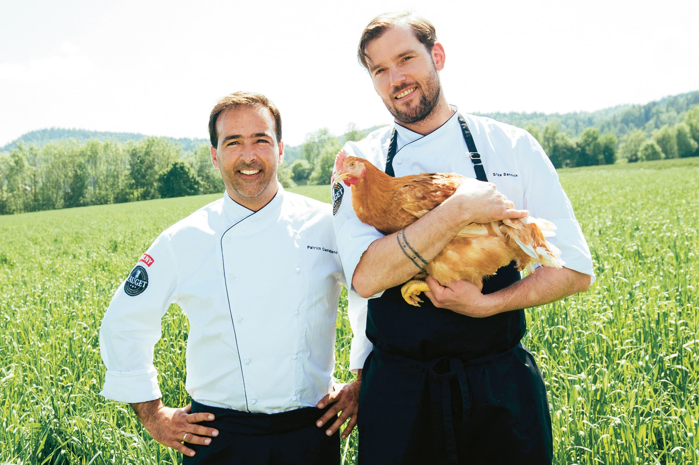 Patrick Castellano er ferskvaresjef ved MENY lndrehavn – og er stor fan av Lerstang kylling.