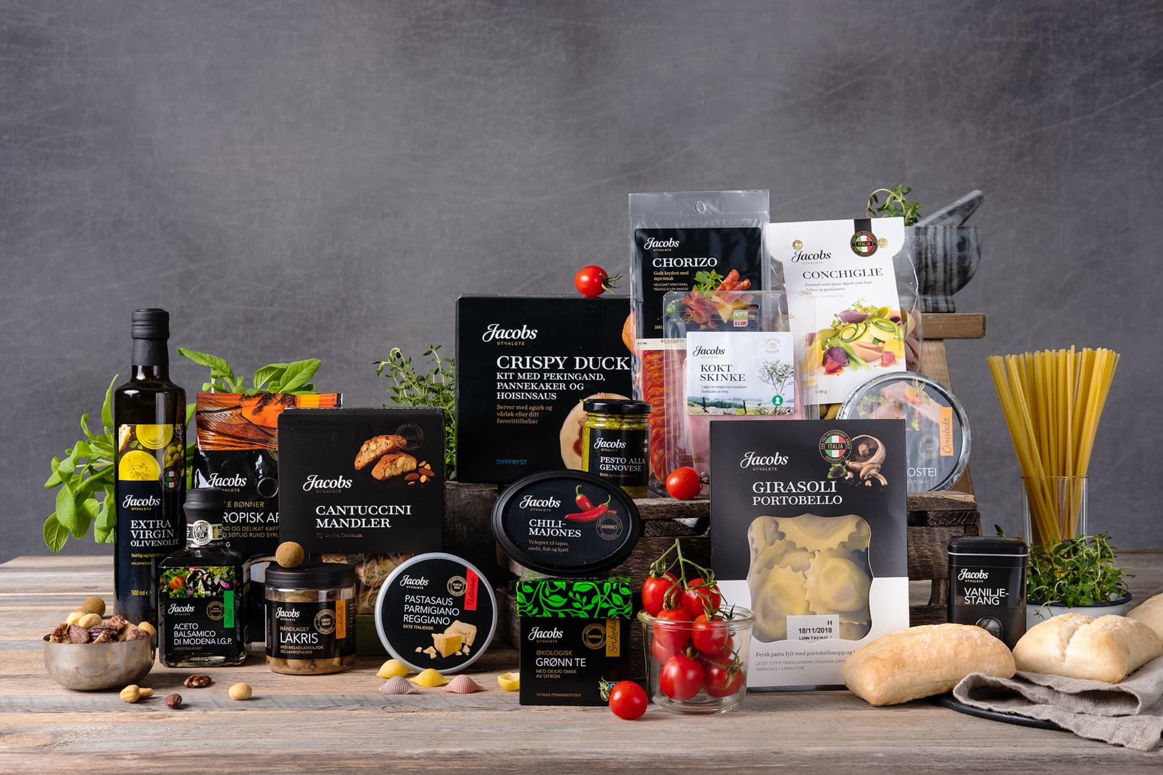 Jacobs Utvalgte er en rekke ulike produkter laget av spesielt gode råvarer.