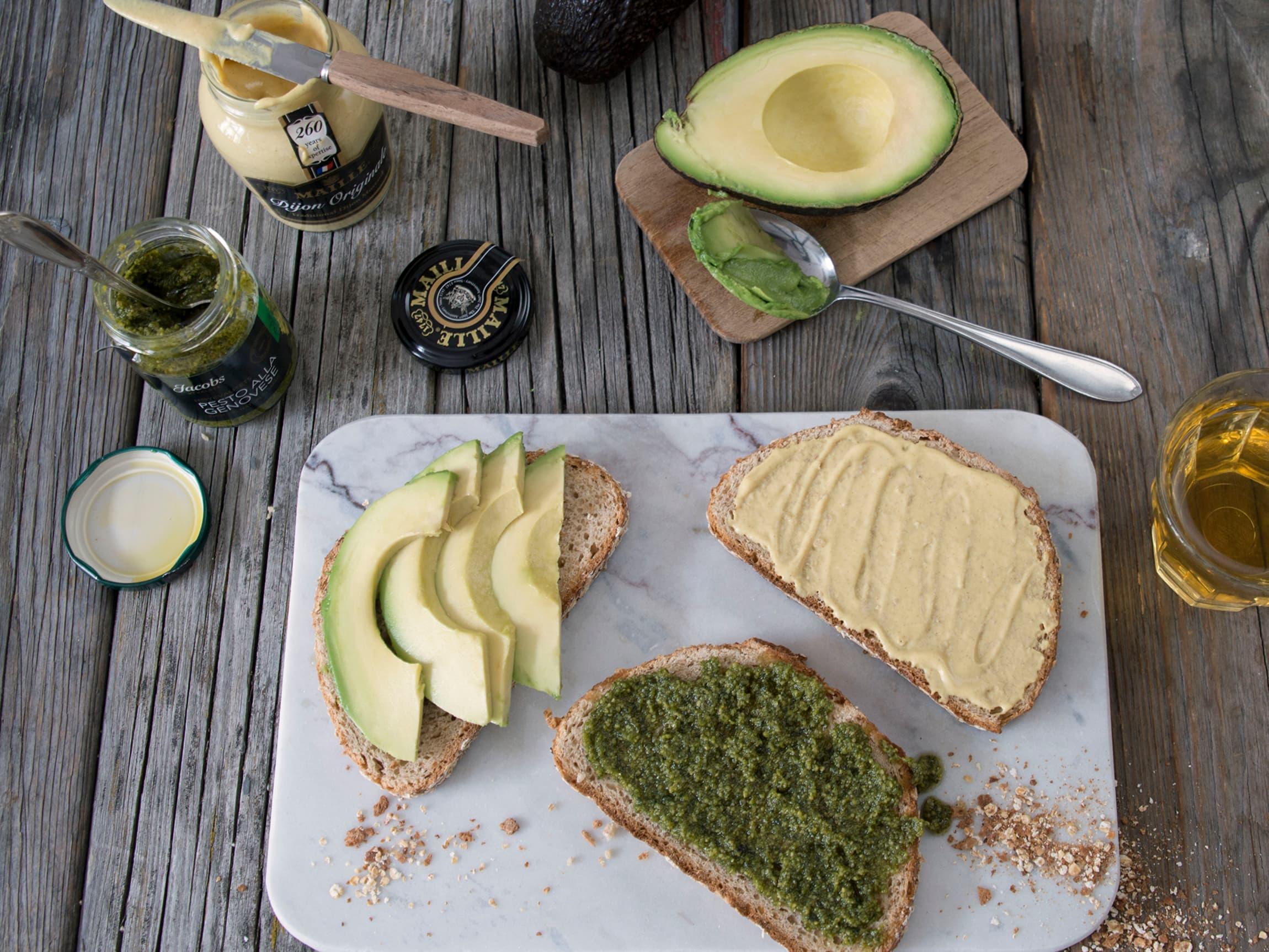 Prøv noe annet enn smør og majones på brødskiven
