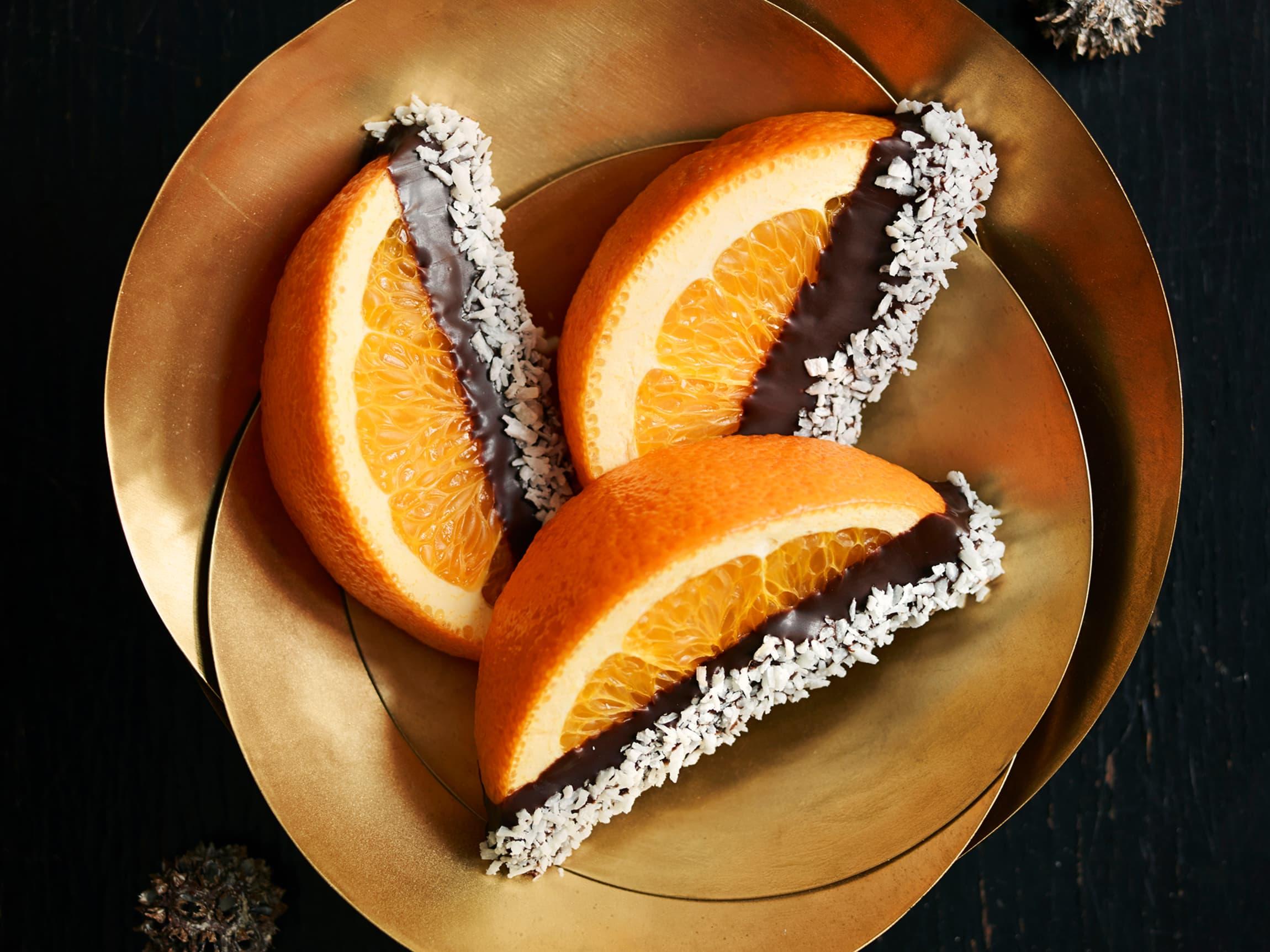 Appelsin og sjokolade er en uslåelig kombinasjon.