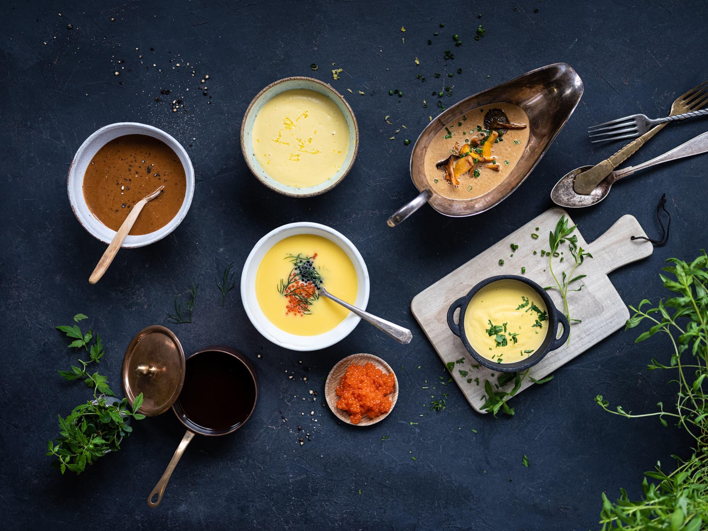 En god saus er viktig til maten. Jacobs Utvalgte sauser har noe for enhver smak og ethvert måltid