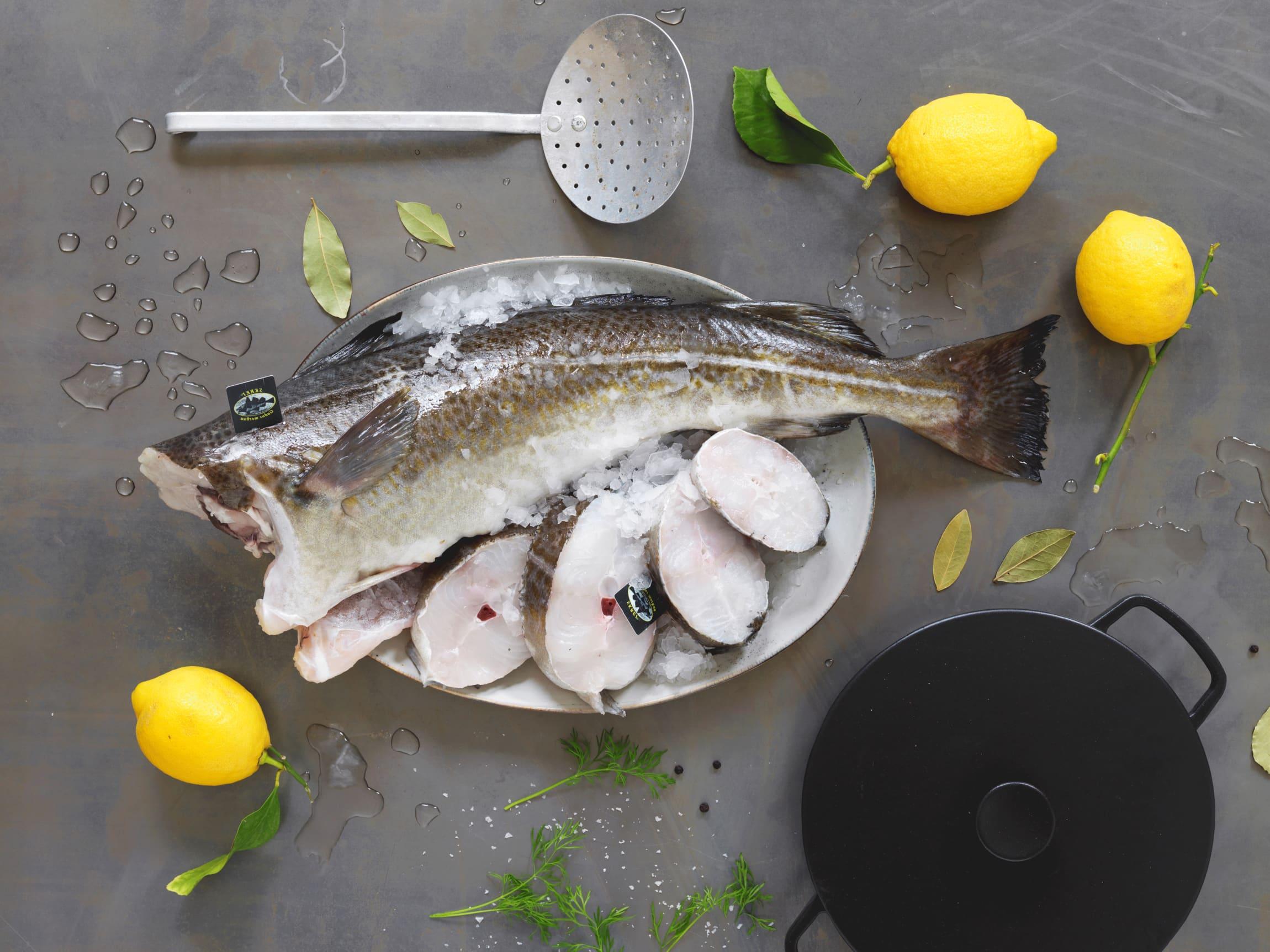 """Skrei er en populær sesongfisk og siden den offisielle skreisesongen begynner 14. februar kalles den også ofte for """"kjærlighetsfisken""""."""