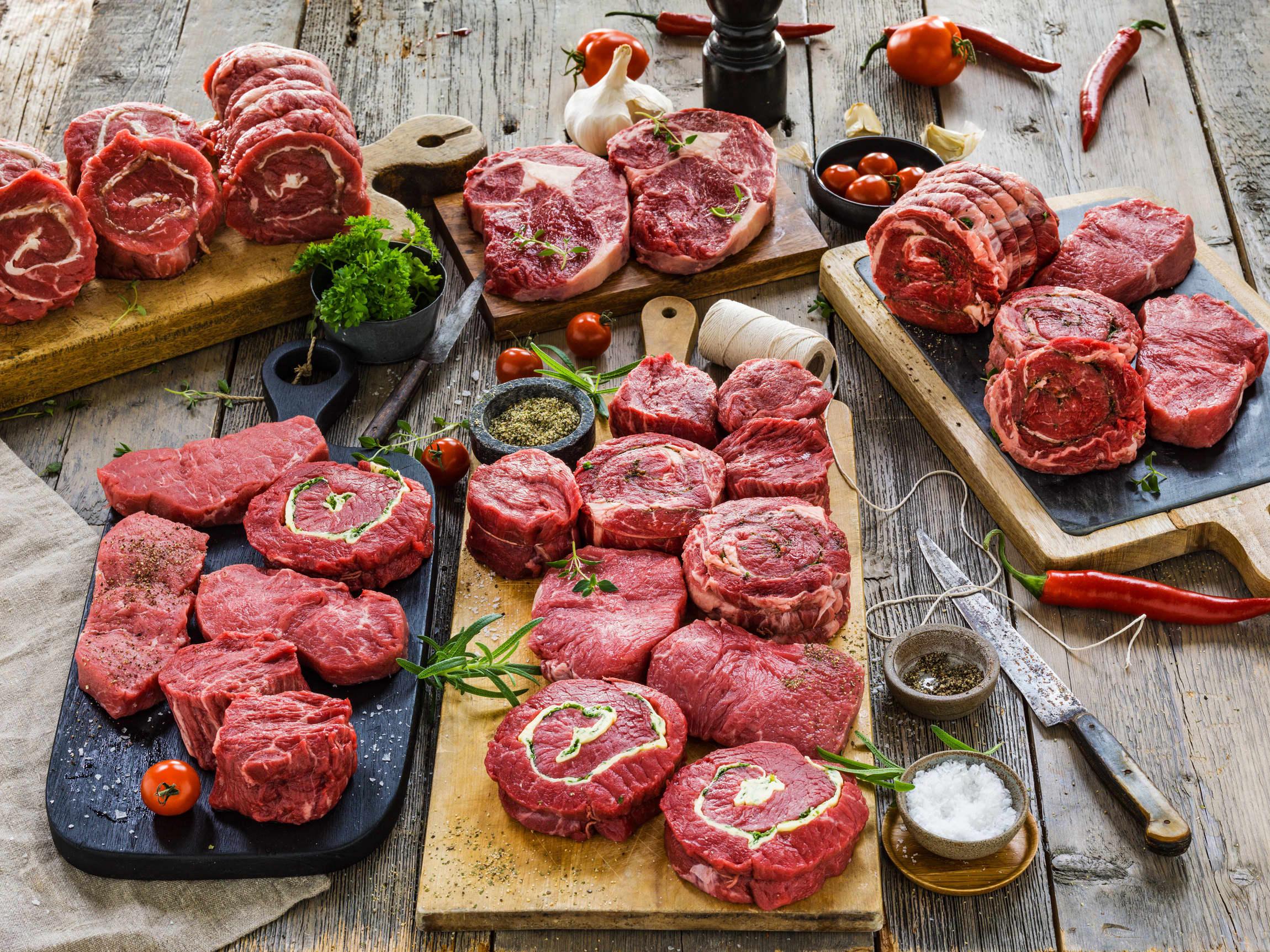 Fett gjør kjøttet saftig og smakfullt.