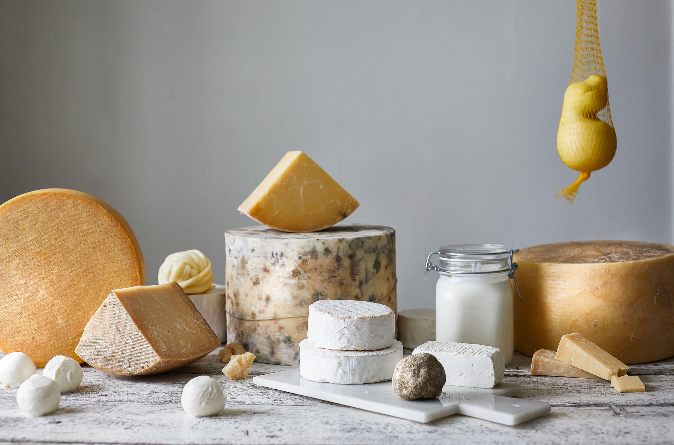 Anretning med ost fra Thorbjørnrud