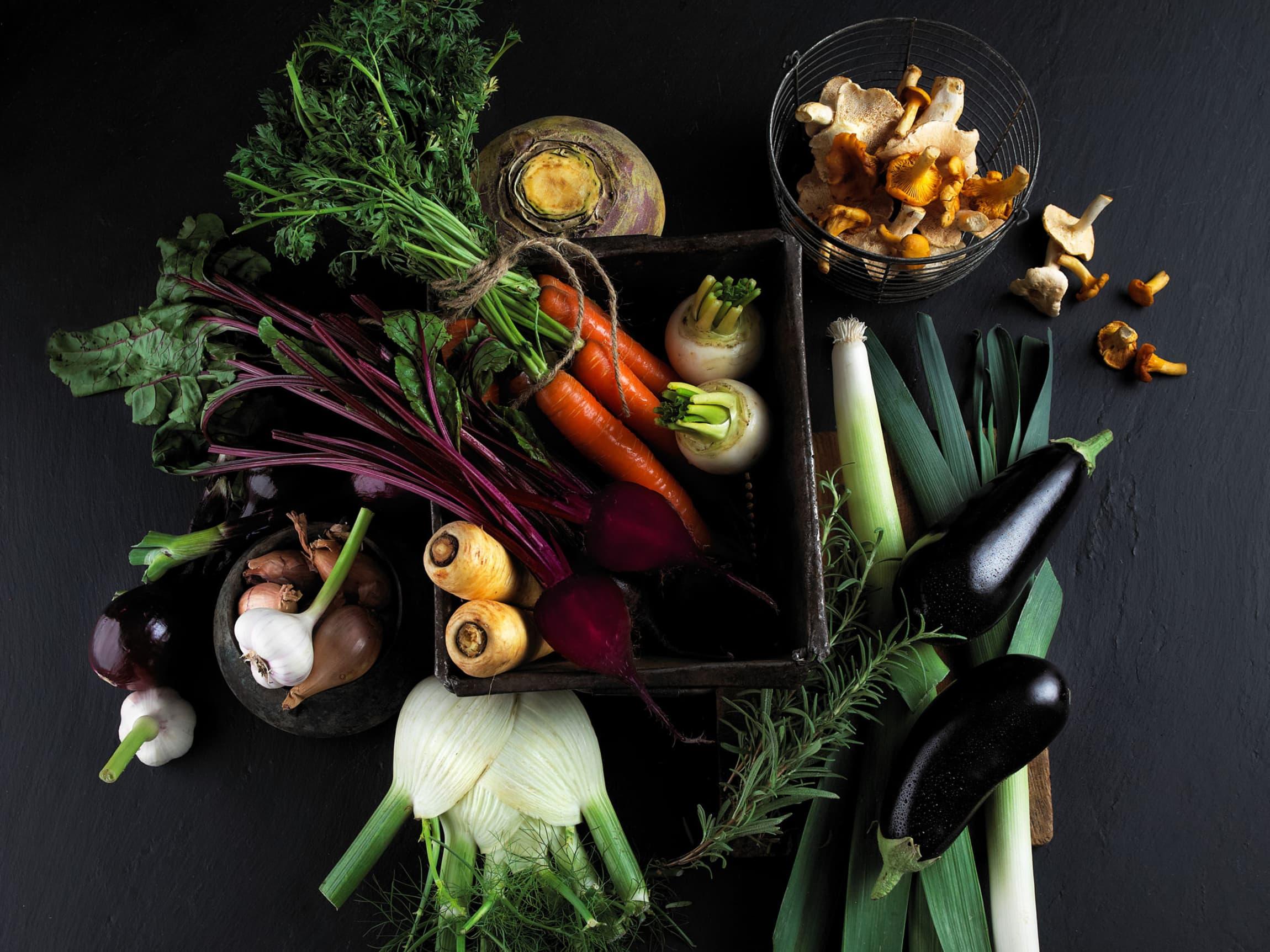 Det bugner av norske grønnsaker på høsten - perfekt tilbehør til lam- og viltkjøtt!