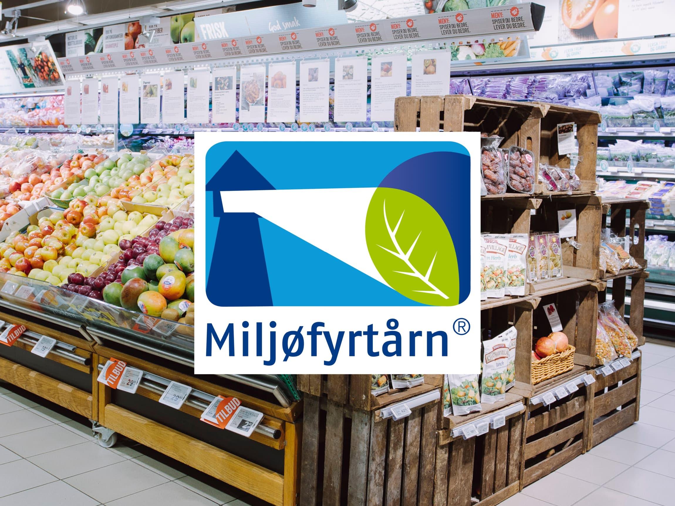 MENY-butikkene er Miljøfyrtårn-sertifiserte