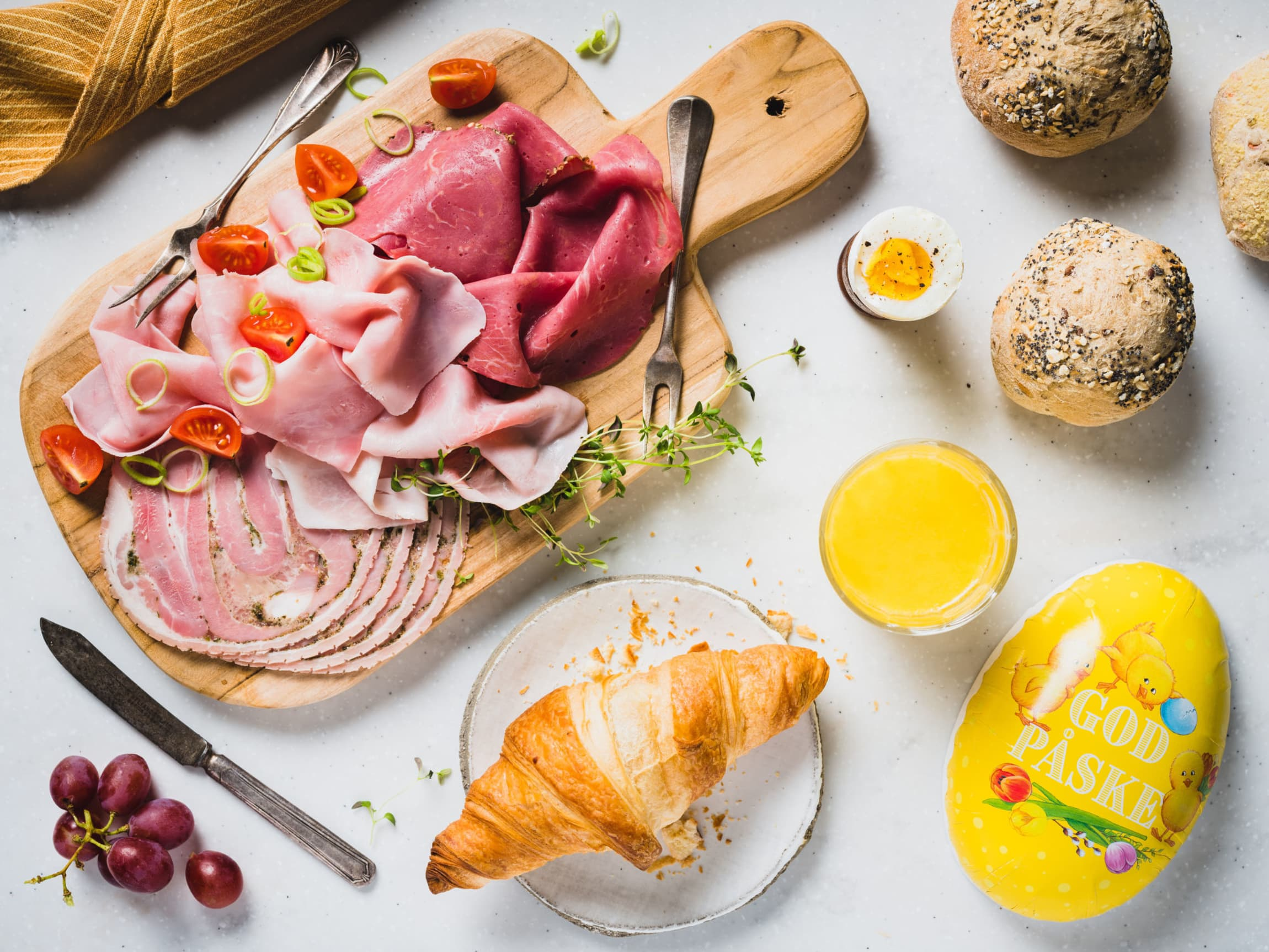 Slik lager du en god påskefrokost