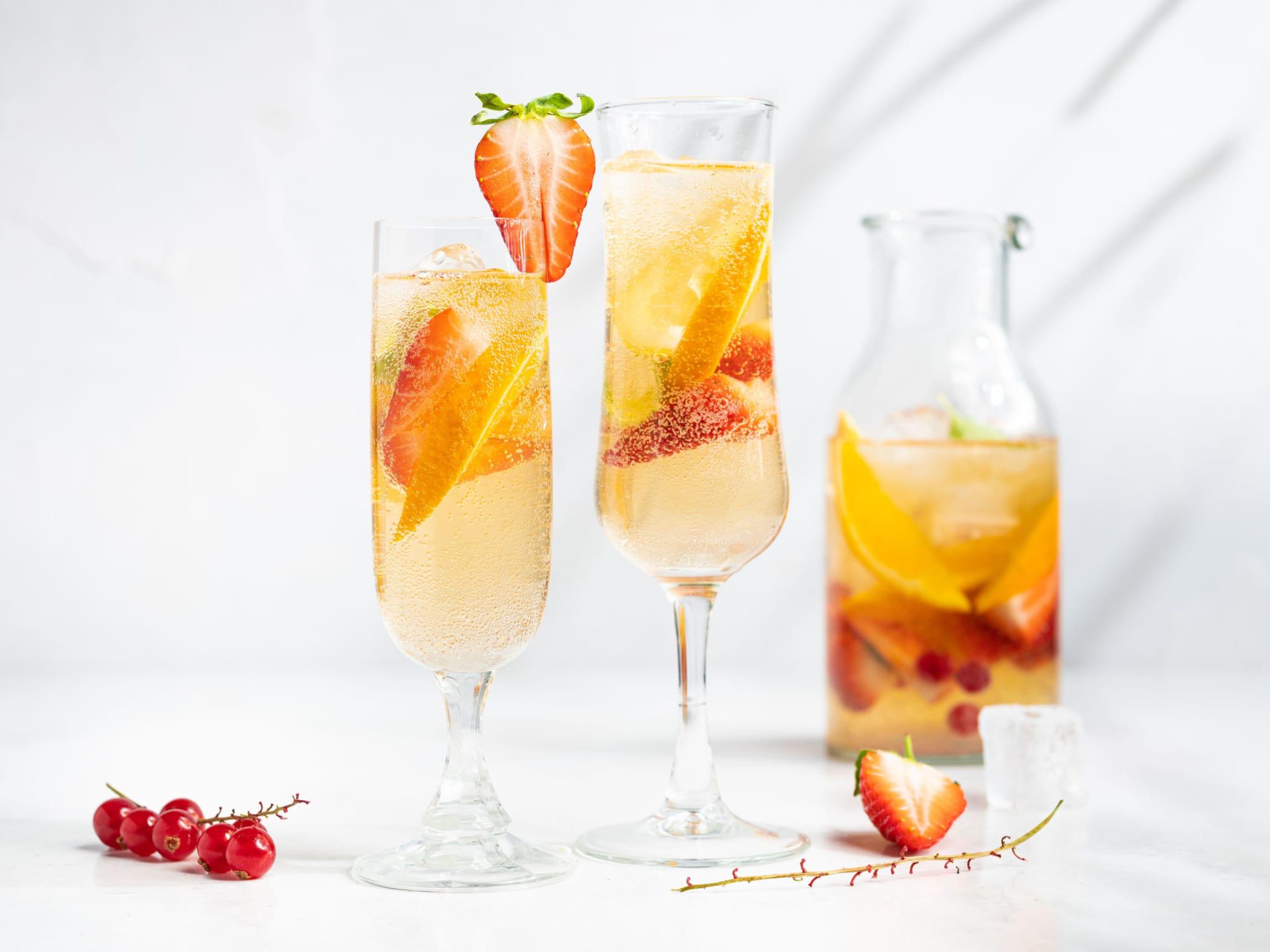 Velkomstdrinker: 5 forfriskende oppskrifter