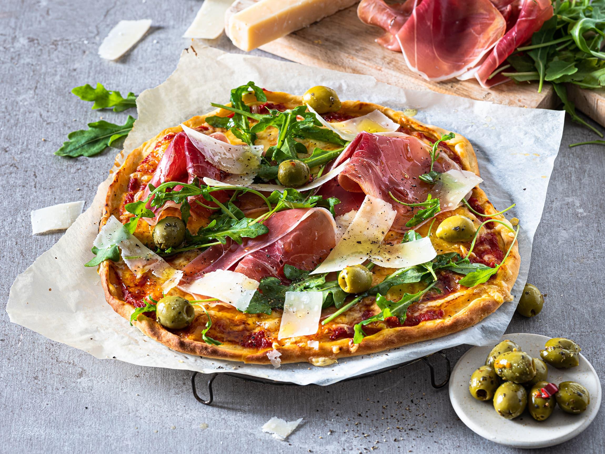 Det ble laget mye god pizza i 2020, og typiske pizza-ingredienser hadde hele 40% vekst!