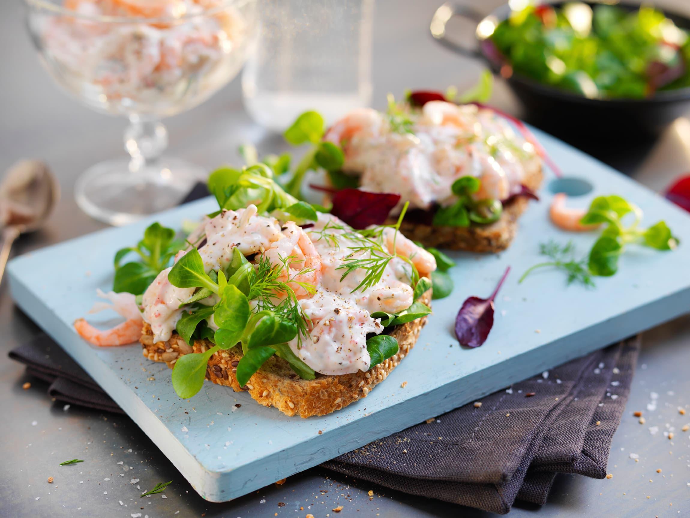 Salater med ferske kvalitetsråvarer er utrolig godt på brødskiven!