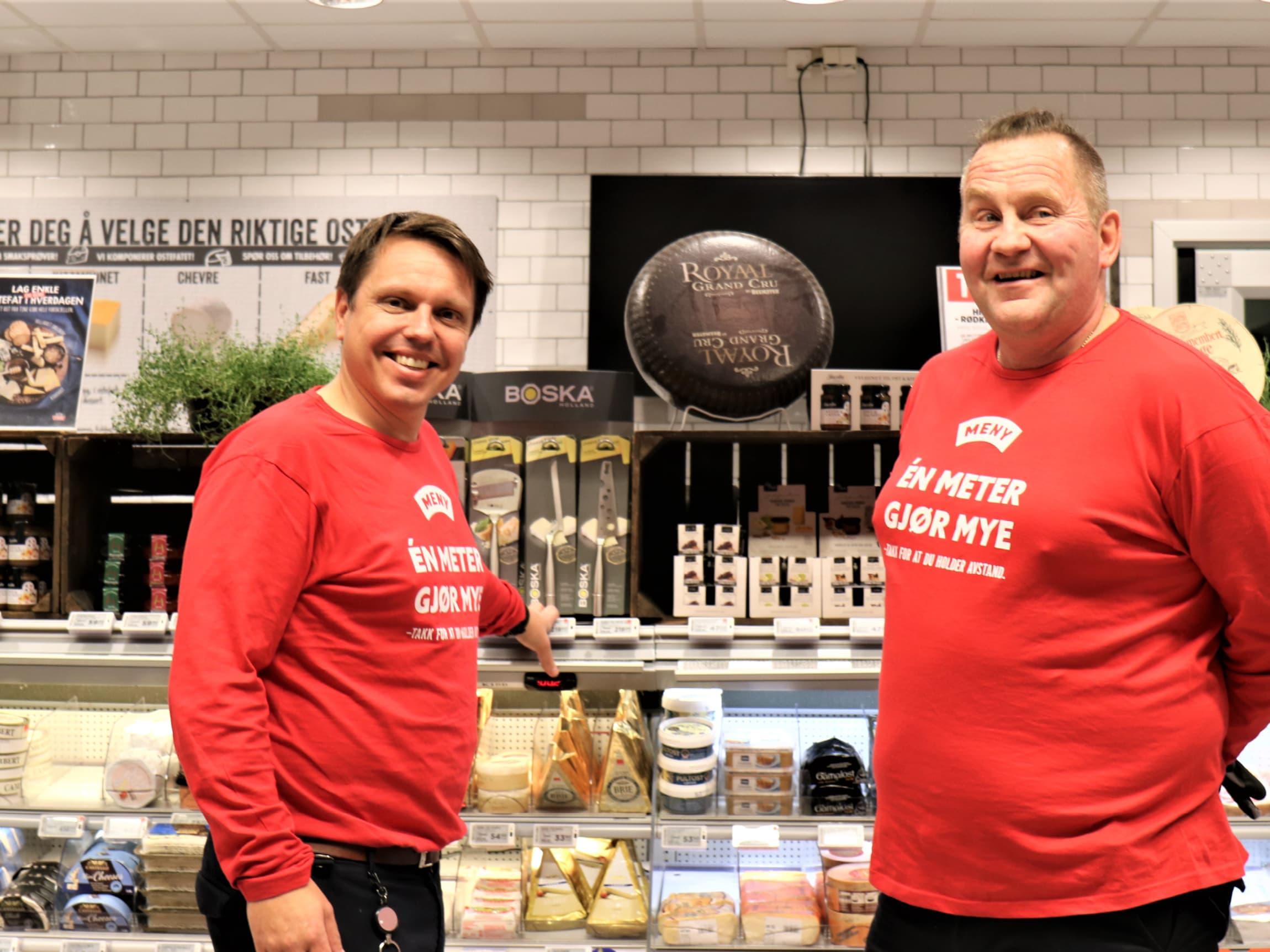 Frank Skråmo hadde nesten gitt opp, men det ble full klaff da han kom til MENY Stavern og fikk tillit hos butikksjef Thomas Eriksen.