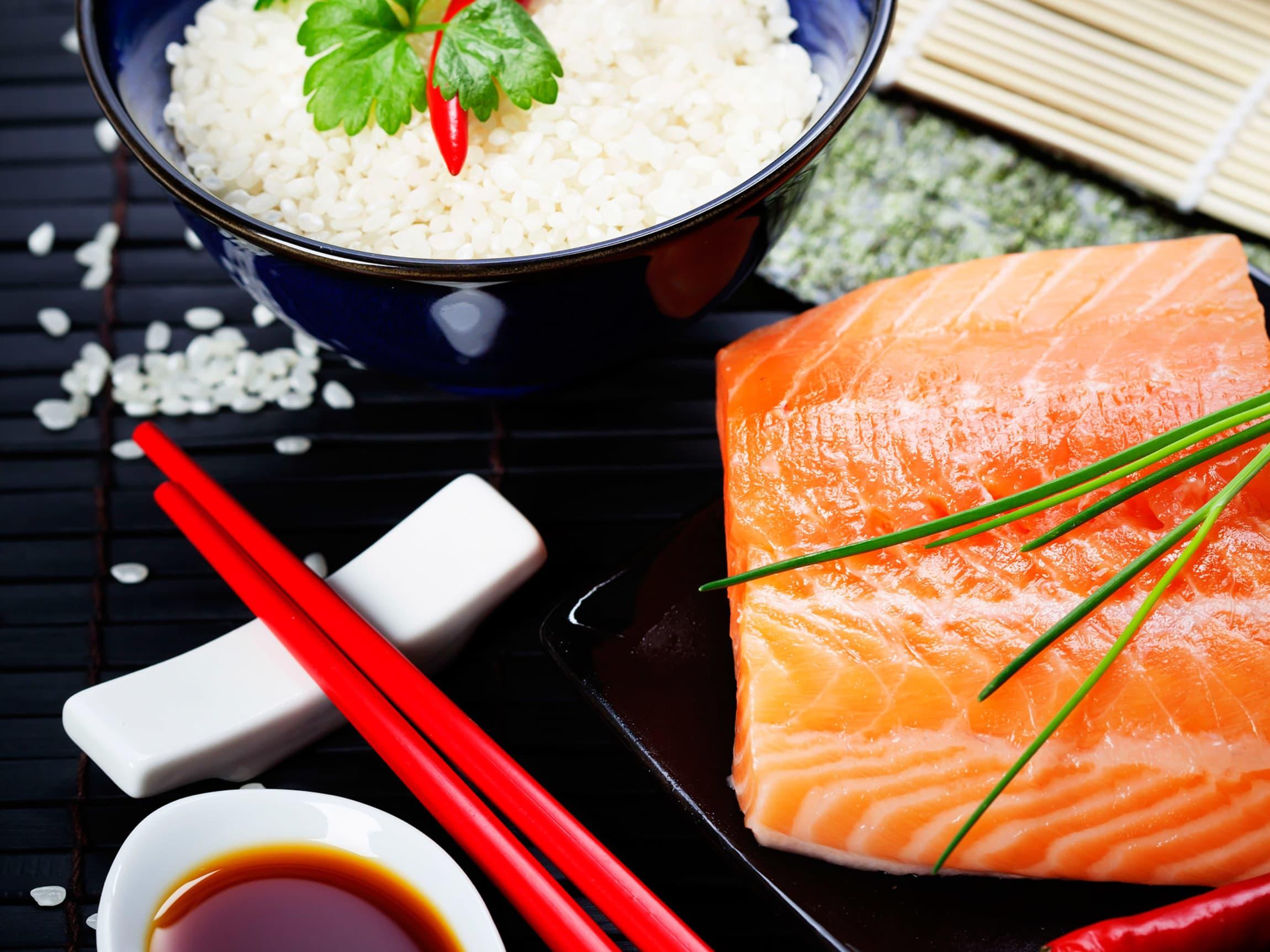 Gode råvarer er det viktigste når det kommer til god sushi.