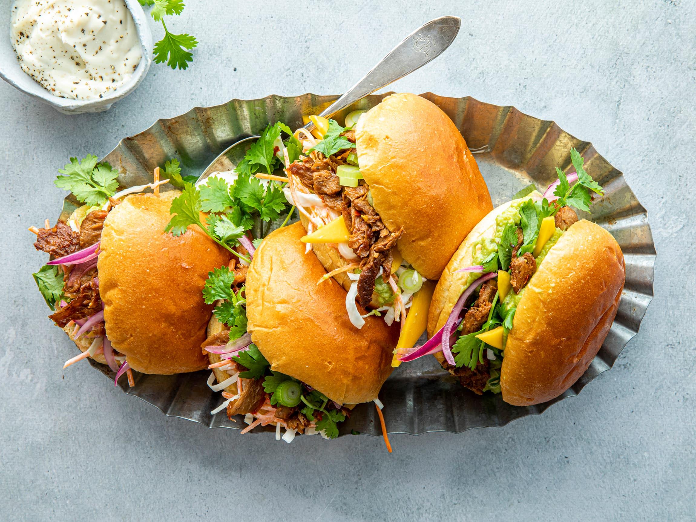 De luftige og smakfulle brioche-brødene løfter blant annet burgere og pulled pork til nye høyder.