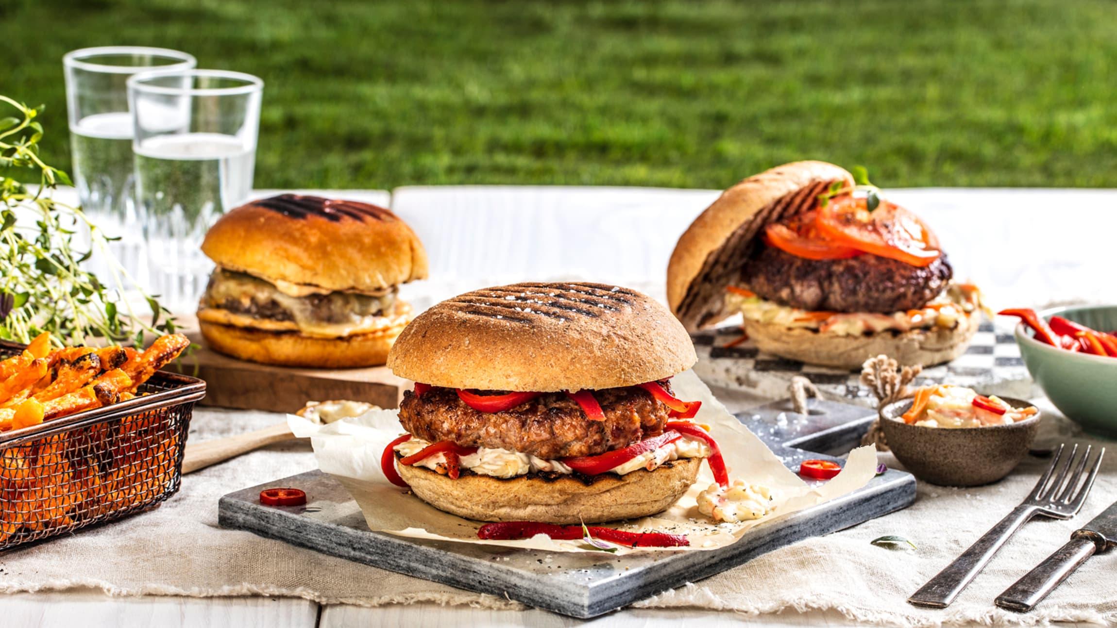Å lage verdens beste burger handler om å finne den kombinasjonen av salt, søtt og syrlig som du liker best.