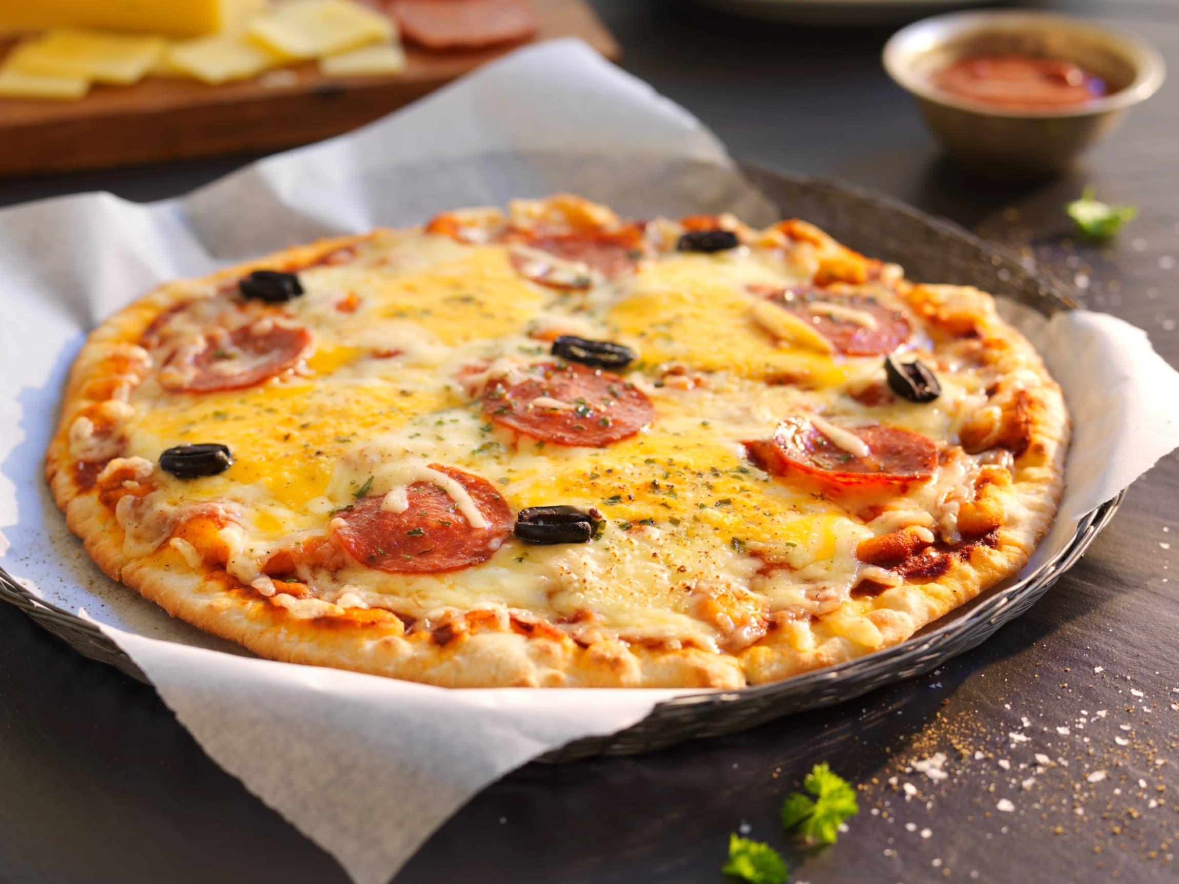 Det er lite som slår en skikkelig god pizza når kampen er i gang!