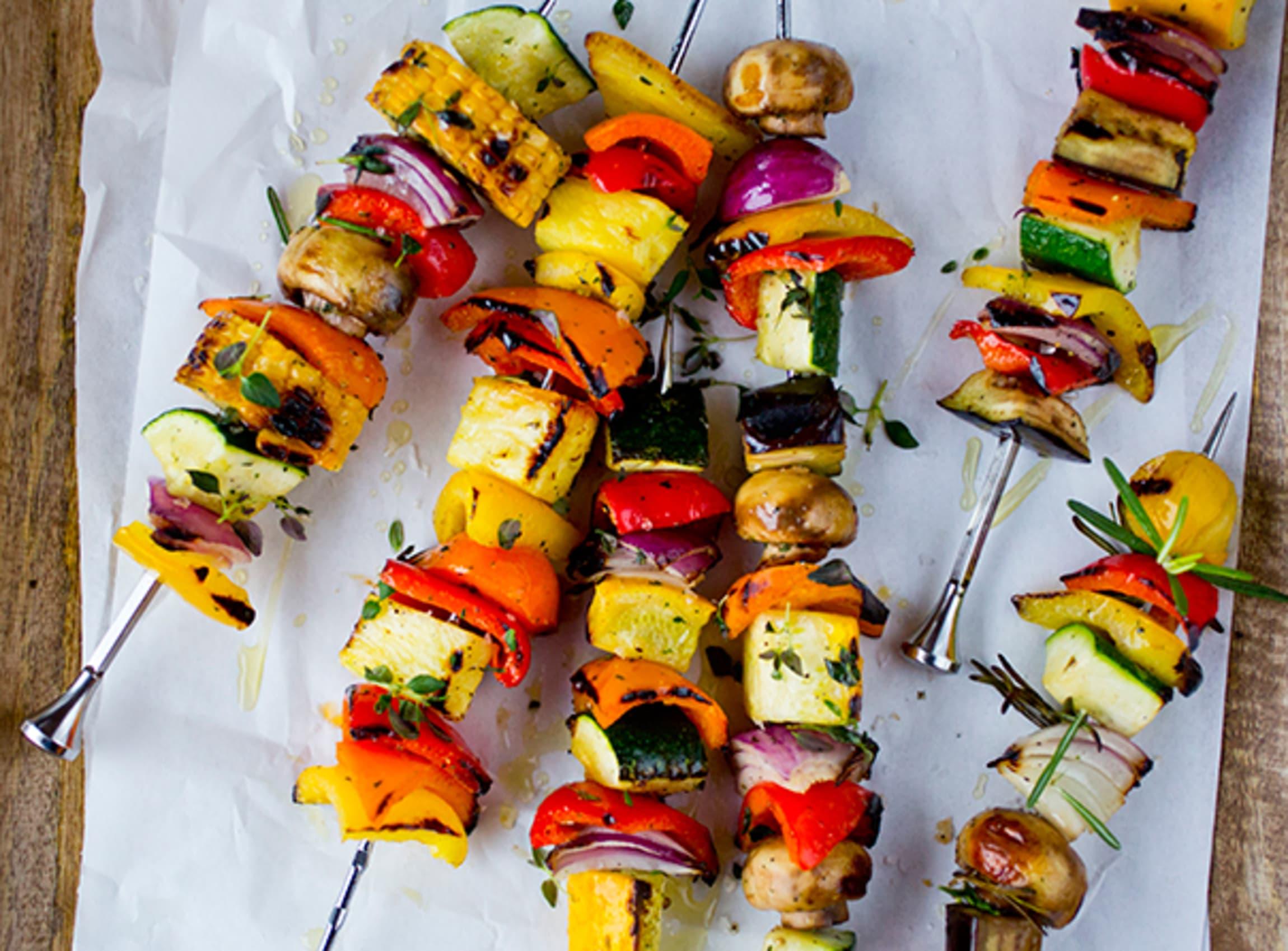 Grilling fremhever grønnsakenes sødme, og gjør dem ekstra saftige.