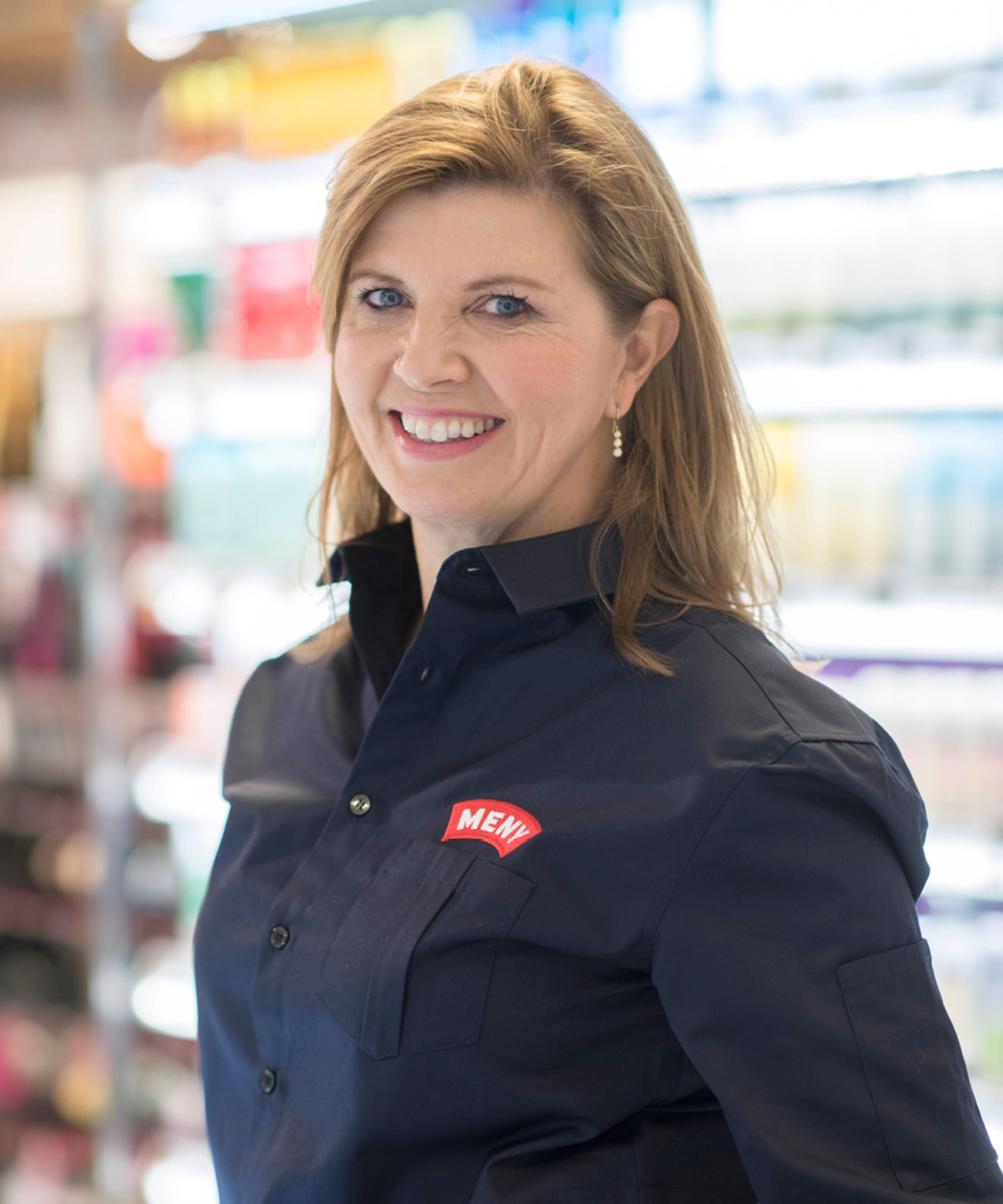MENYs HR-direktør Line Beate Jebsen ønsker seg flere kvinnelige butikksjefer.