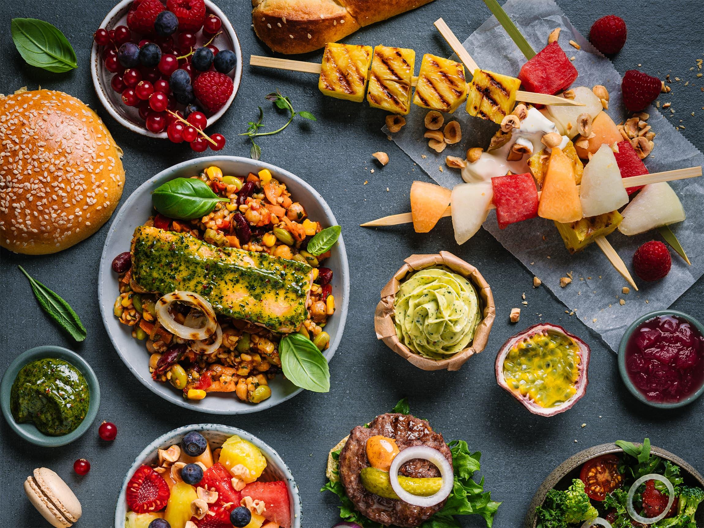 Grønnere middager - enten som tilbehør eller fullverdige vegetarmåltider kommer til å prege grillsesongen i 2020.