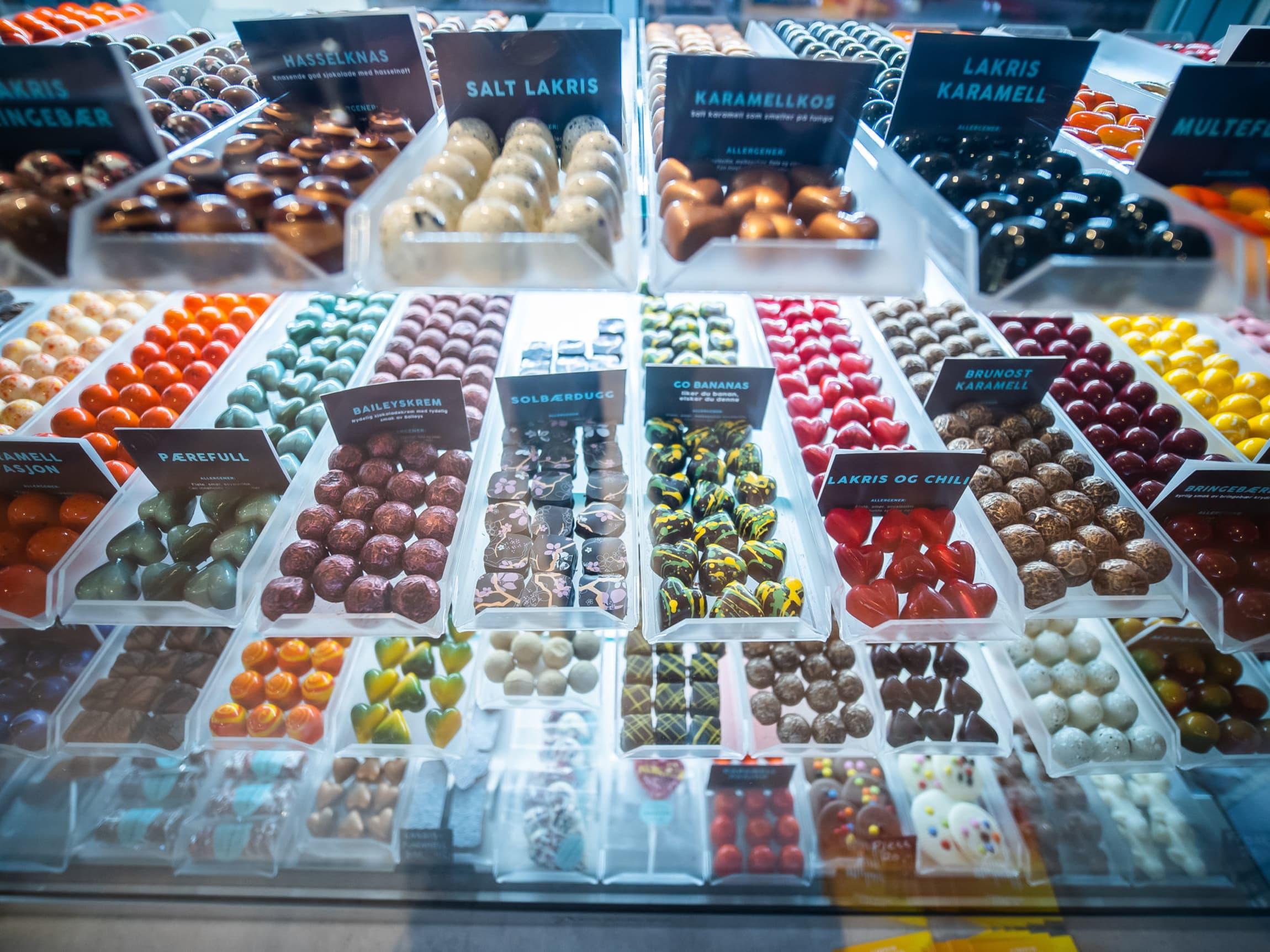 Sjokoladefryd hos Jentene på Tunet