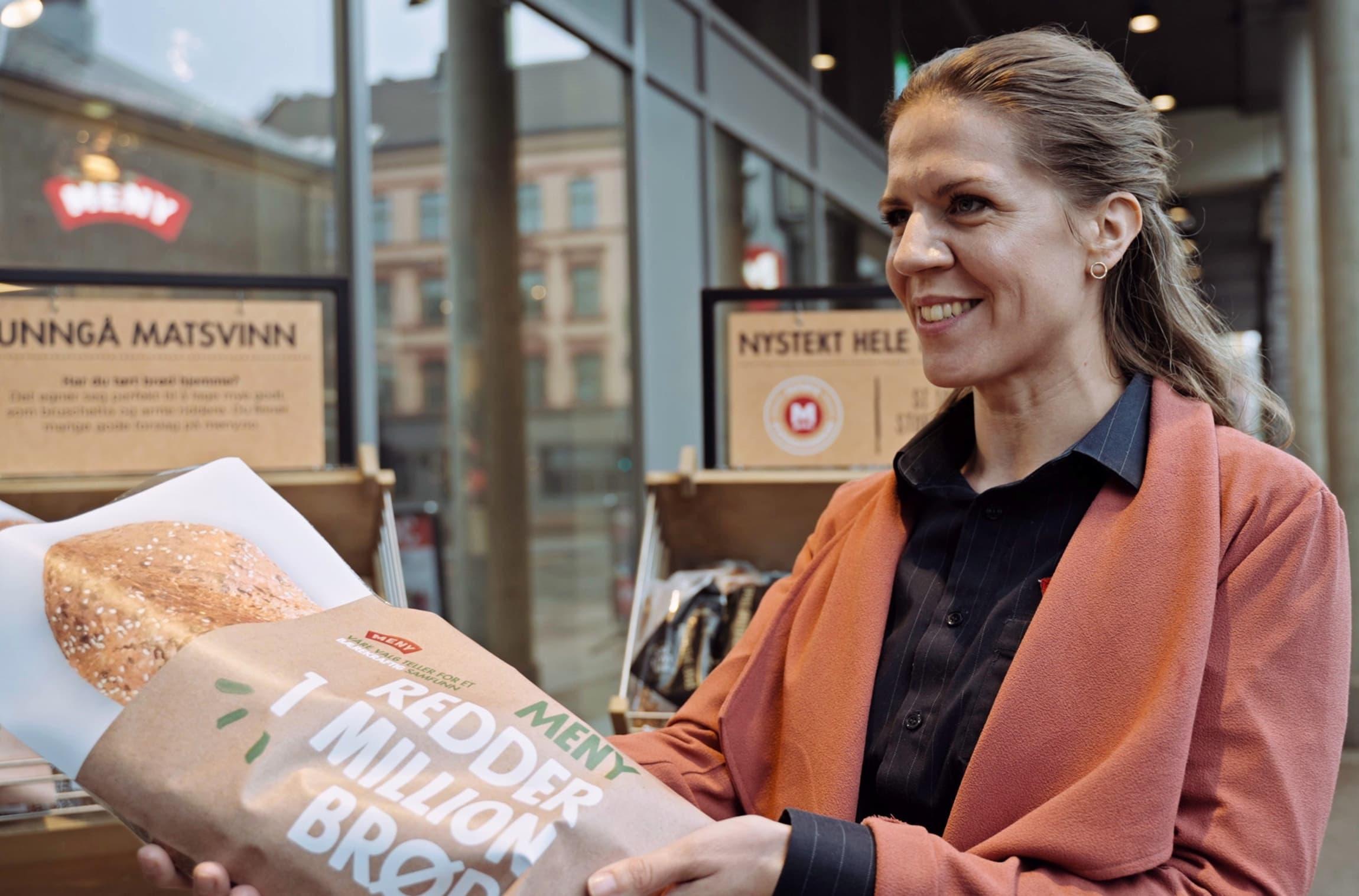 Mari Kristine Kasbo, kategoriansvarlig bakeri i MENY.