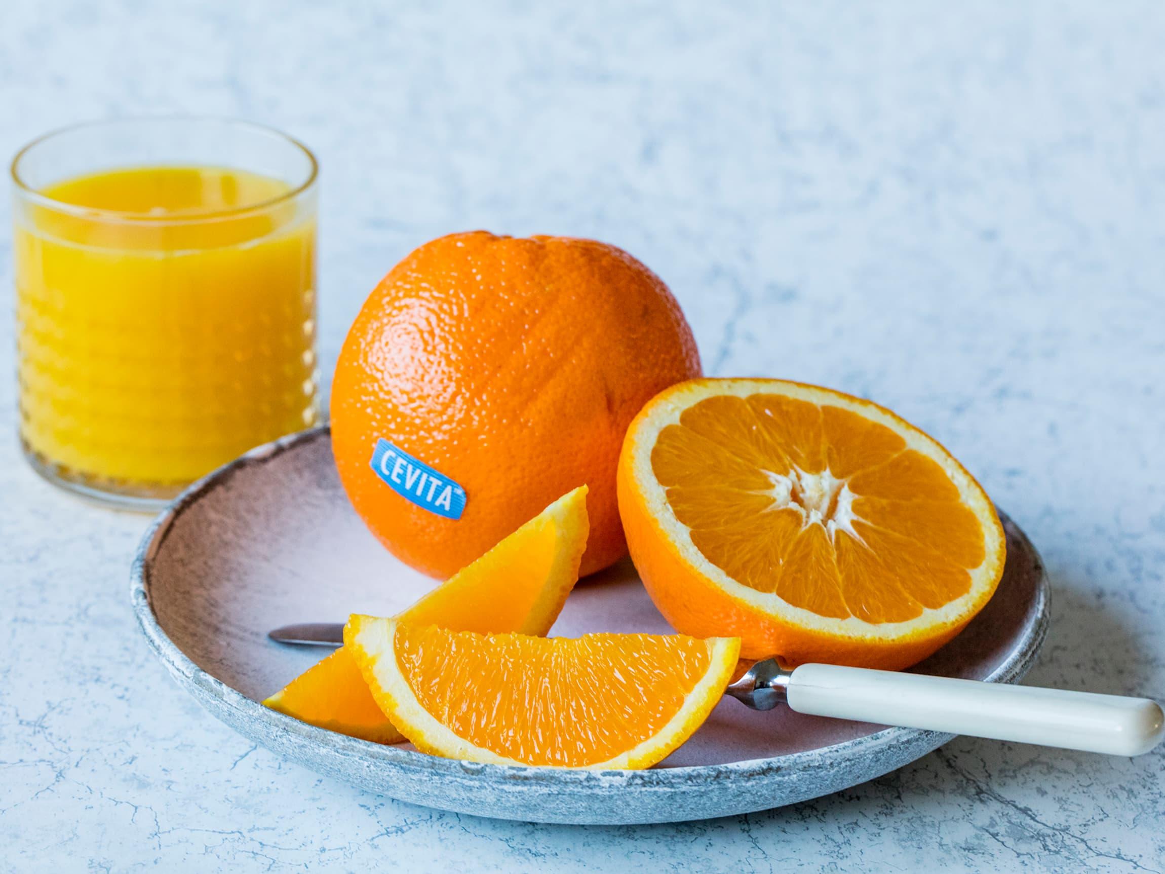 Appelsin er en viktig ingrediens i påsken.
