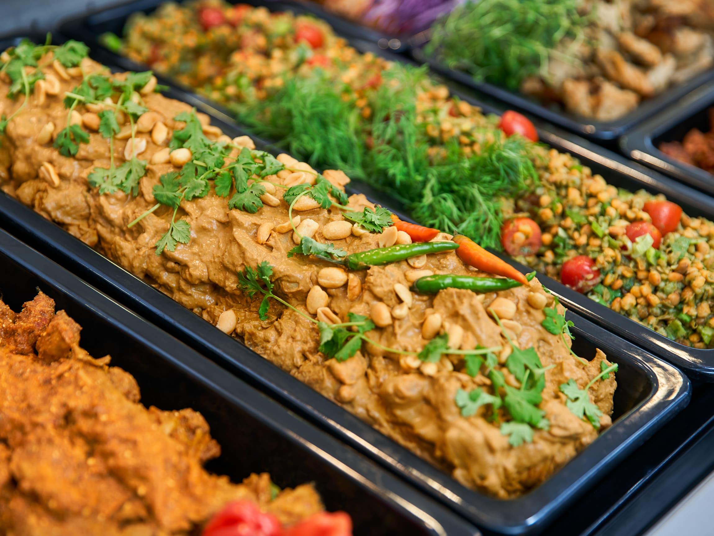 Helt kjøttfrie gryter er noe av det du kan du finne i vegetardisken