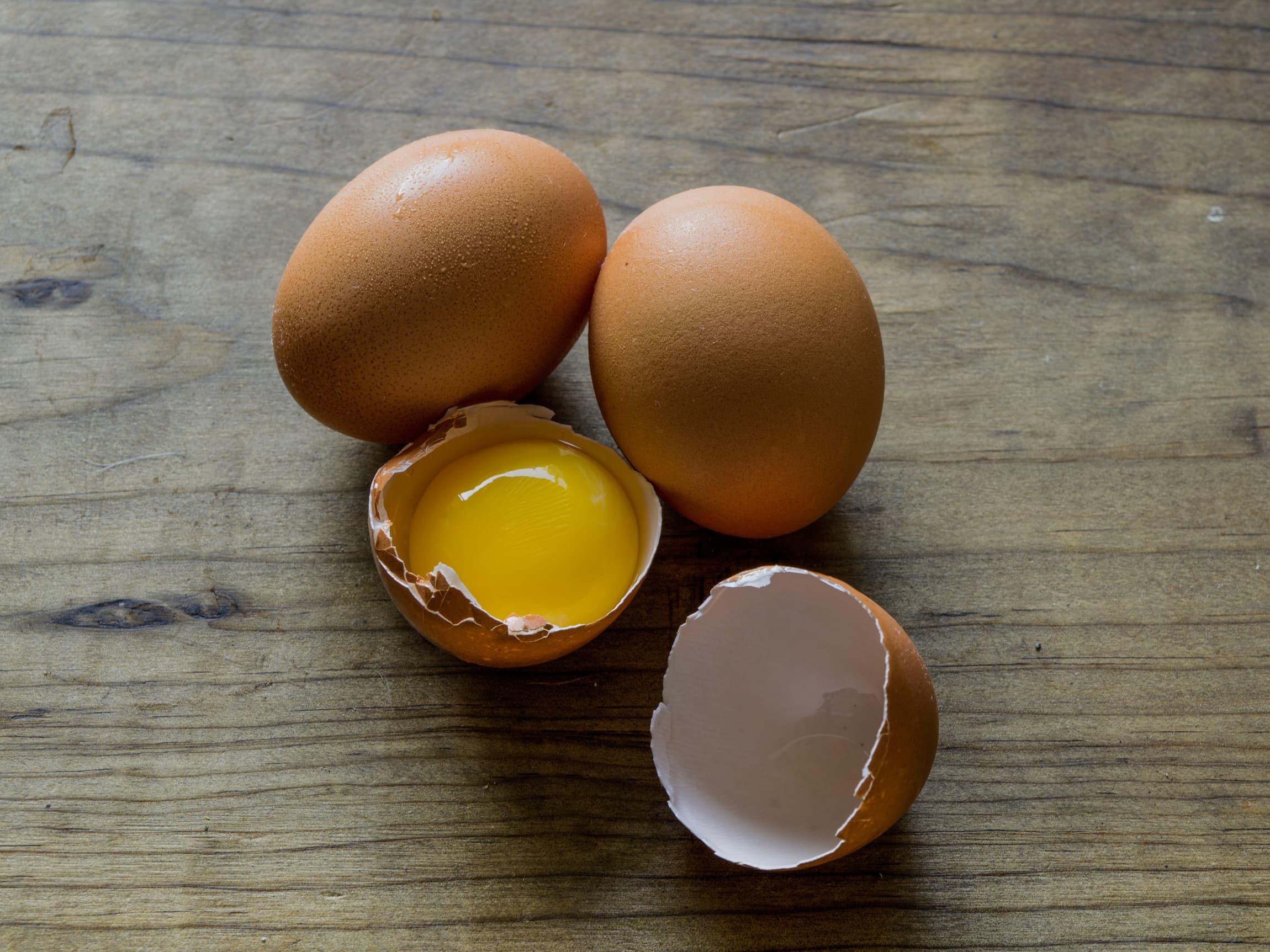 Visste du at et egg veier 63 gram i gjennomsnitt?