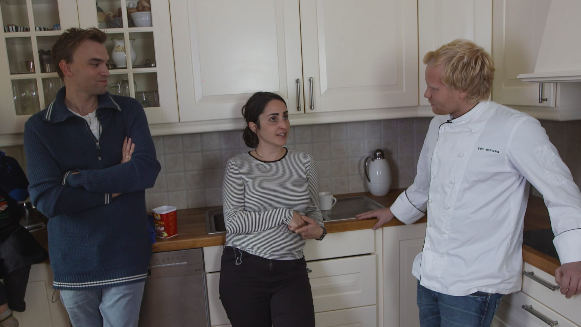 Kokken Emil kommer på besøk