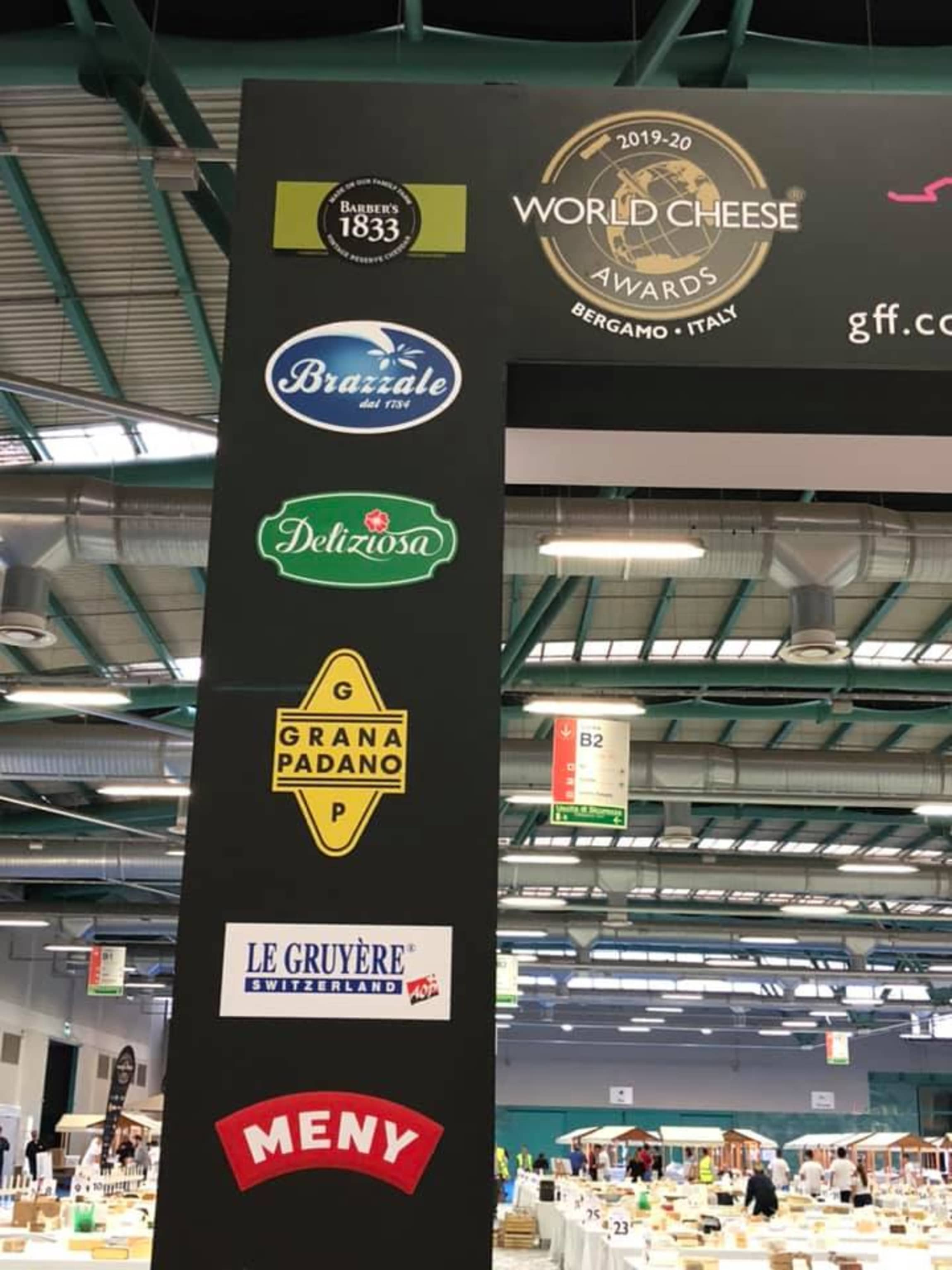 MENY er nasjonal sponsor av World Cheese Awards