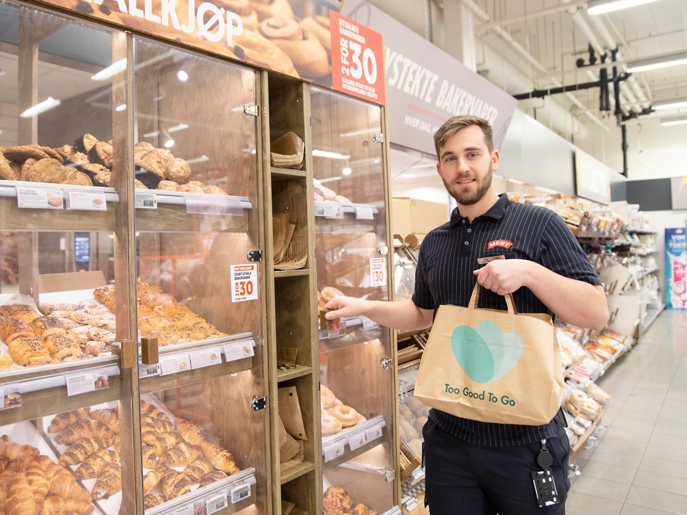 To Good too Go er svært populært blant kundene på MENY Bjølsen