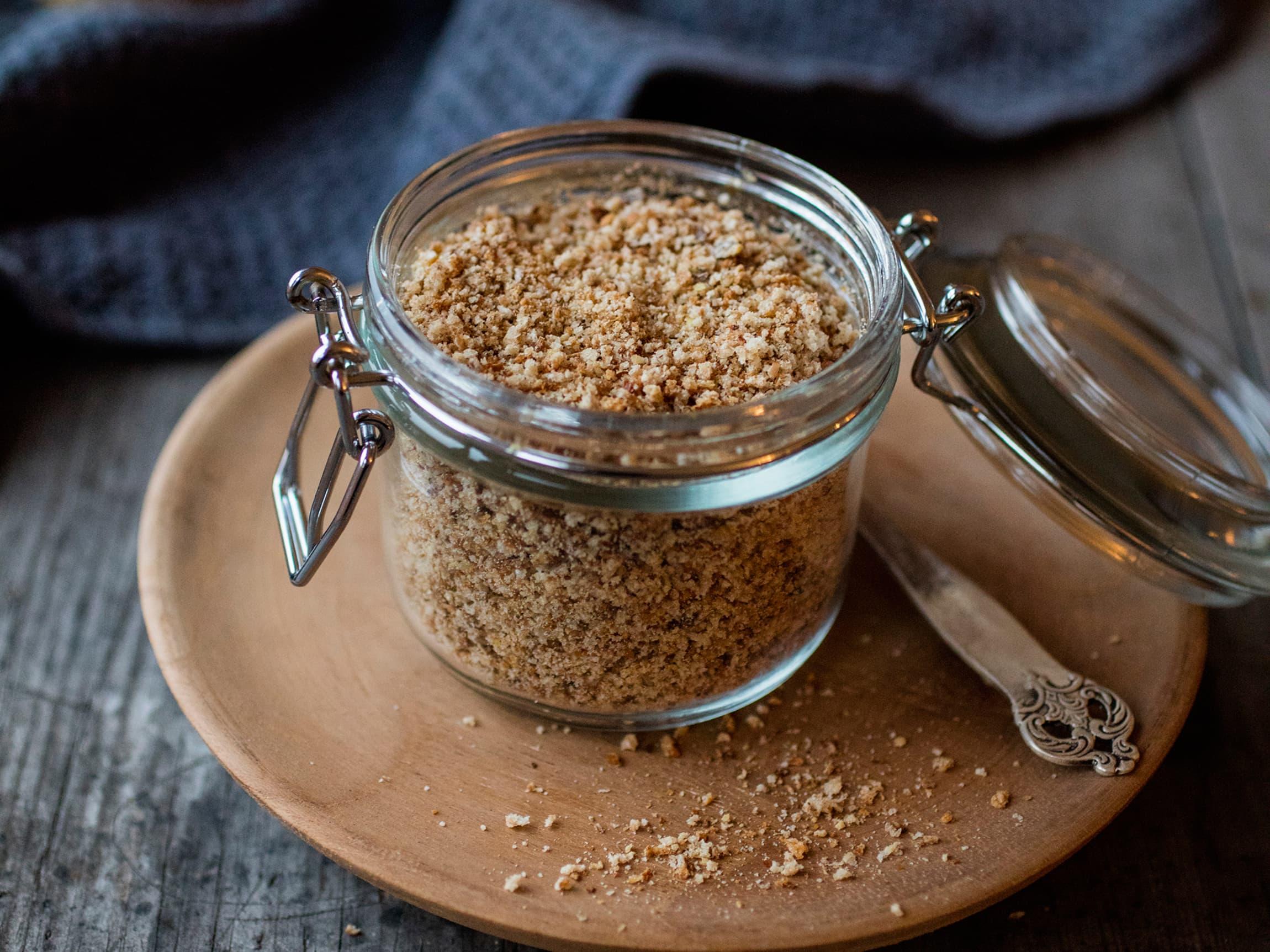 Griljermel brukes til å lage god stekecrisp på blant annet nuggets og fiskepinner.