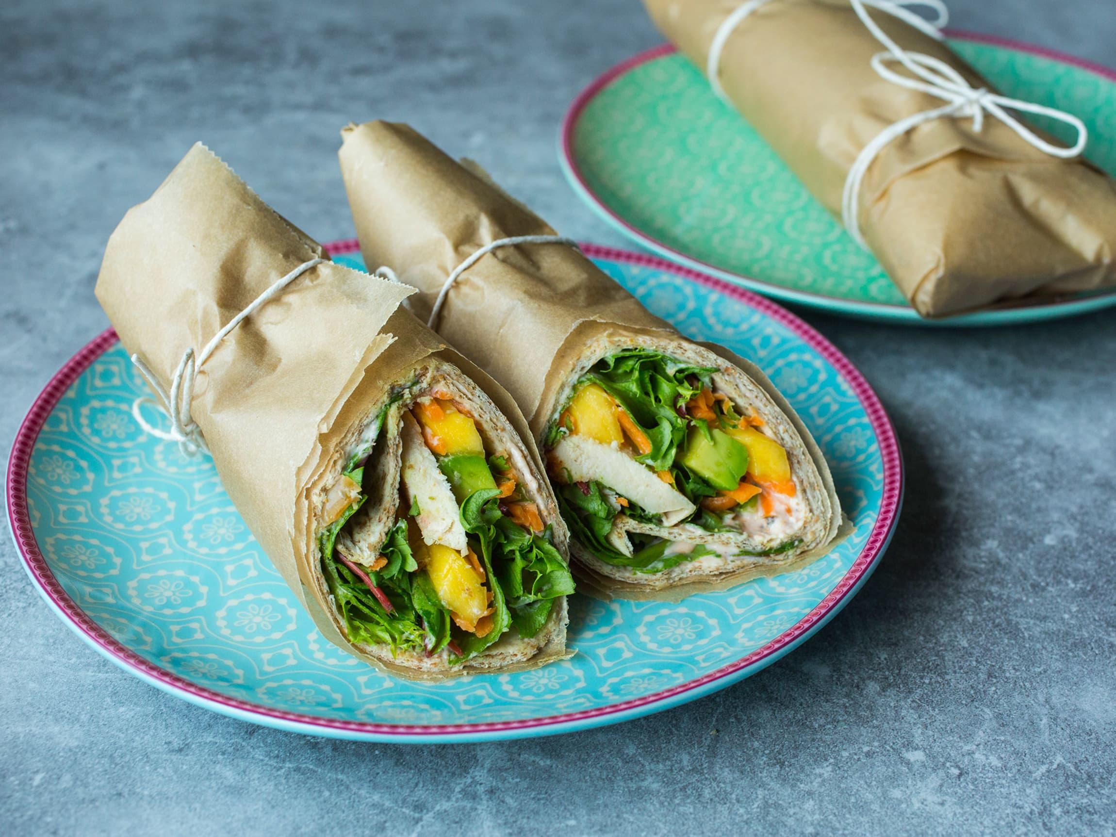 Wraps er en god måte å få i seg mange smakfulle grønnsaker på.